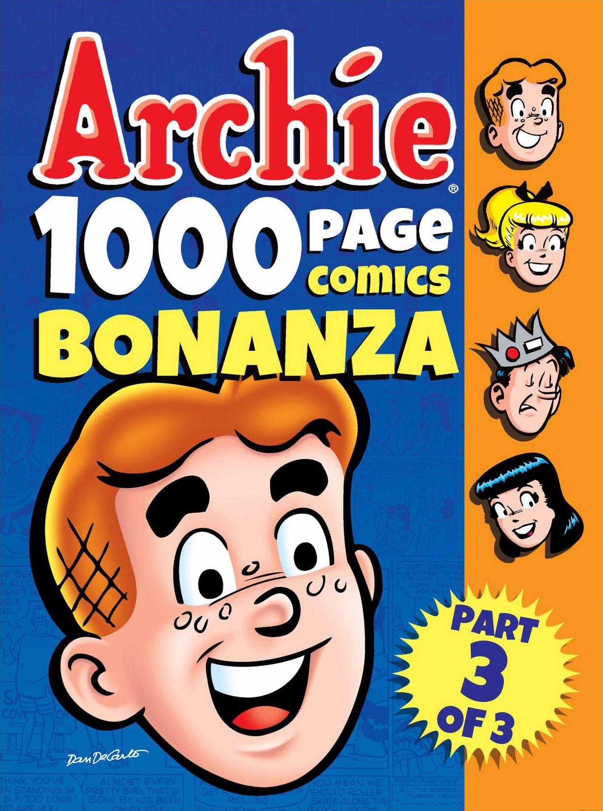 Read online Archie 1000 Page Comics Bonanza comic -  Issue #3 (Part 1) - 1