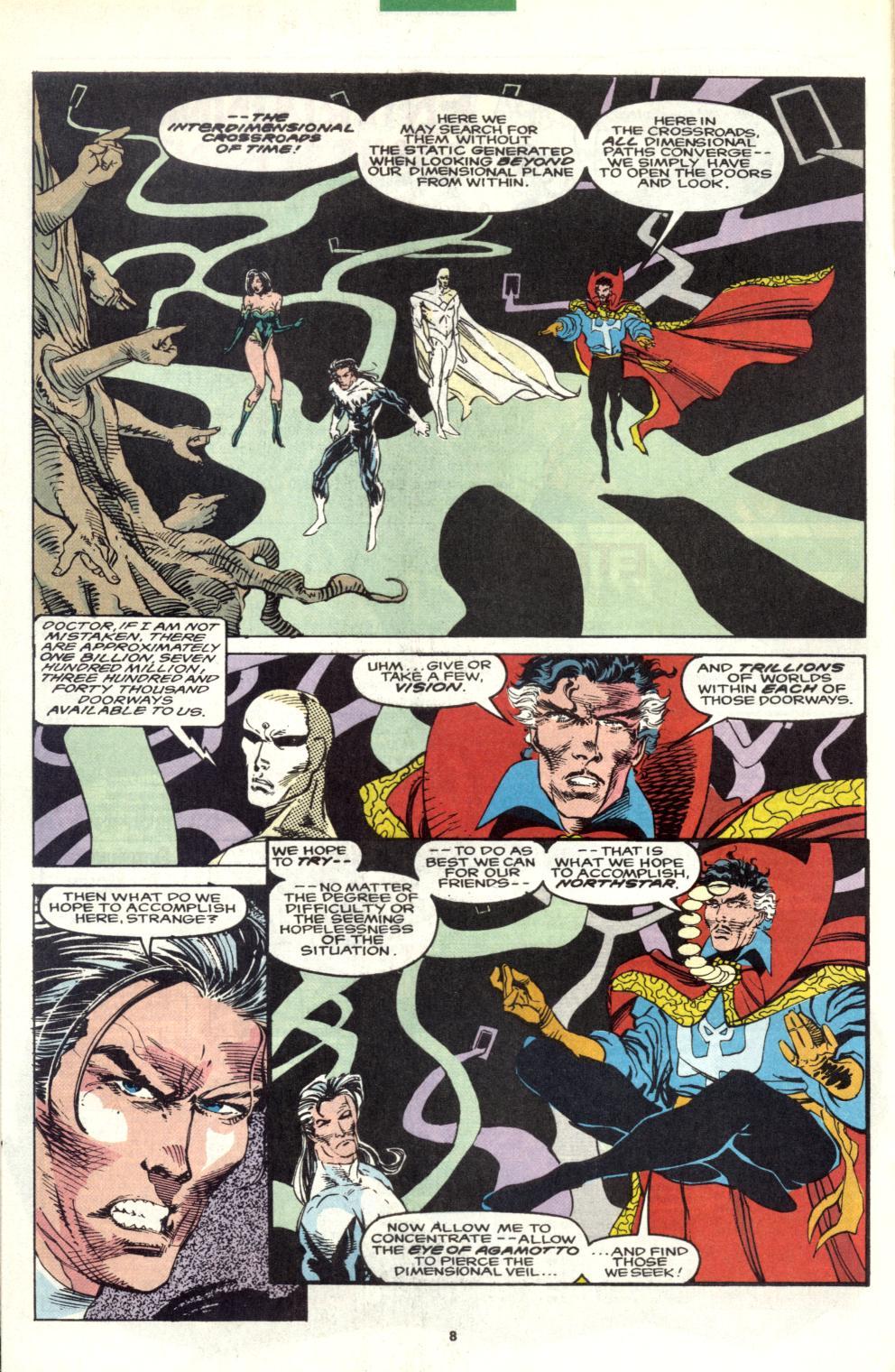 Read online Alpha Flight (1983) comic -  Issue #101 - 7