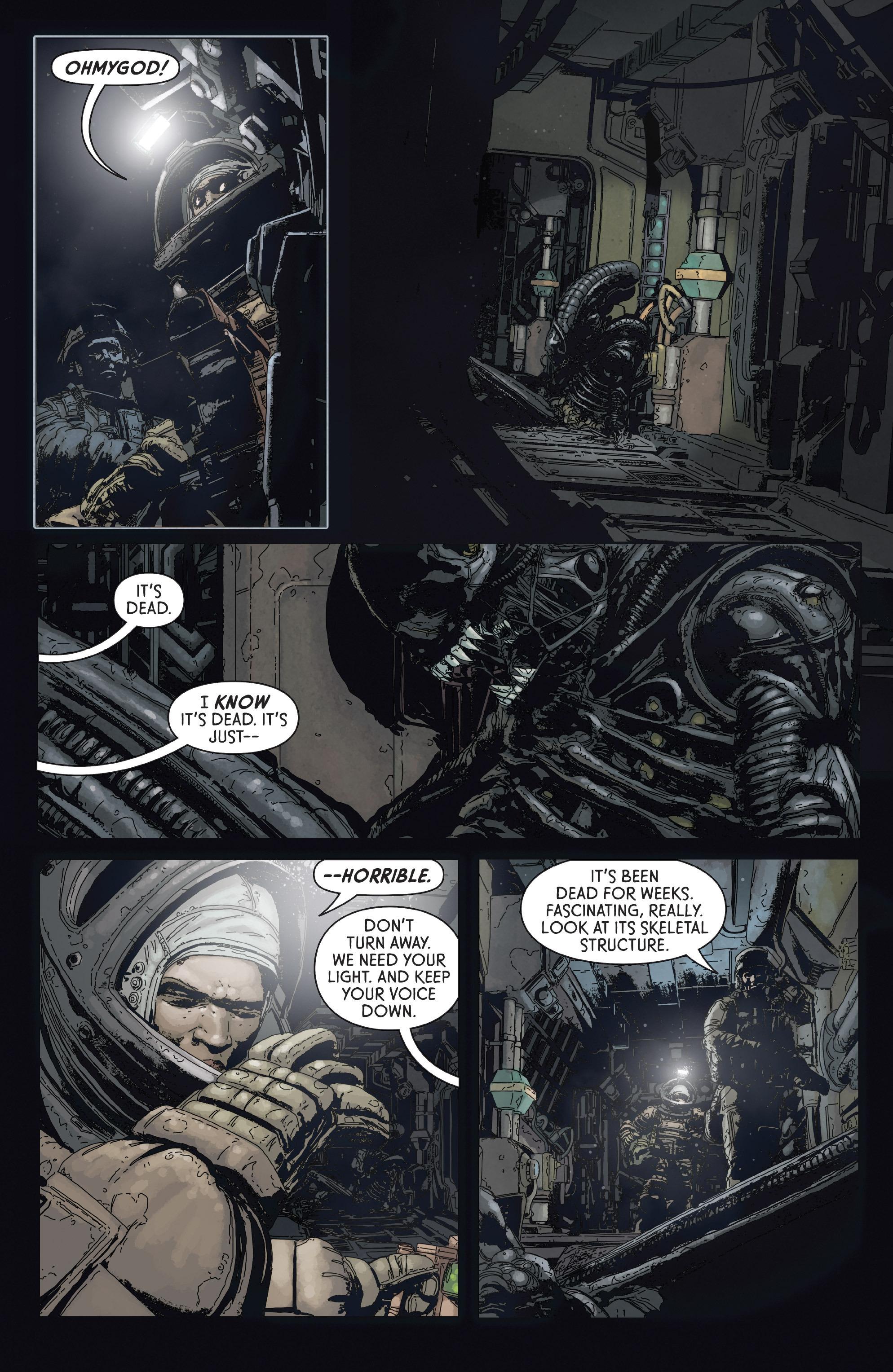 Read online Aliens: Defiance comic -  Issue #2 - 8