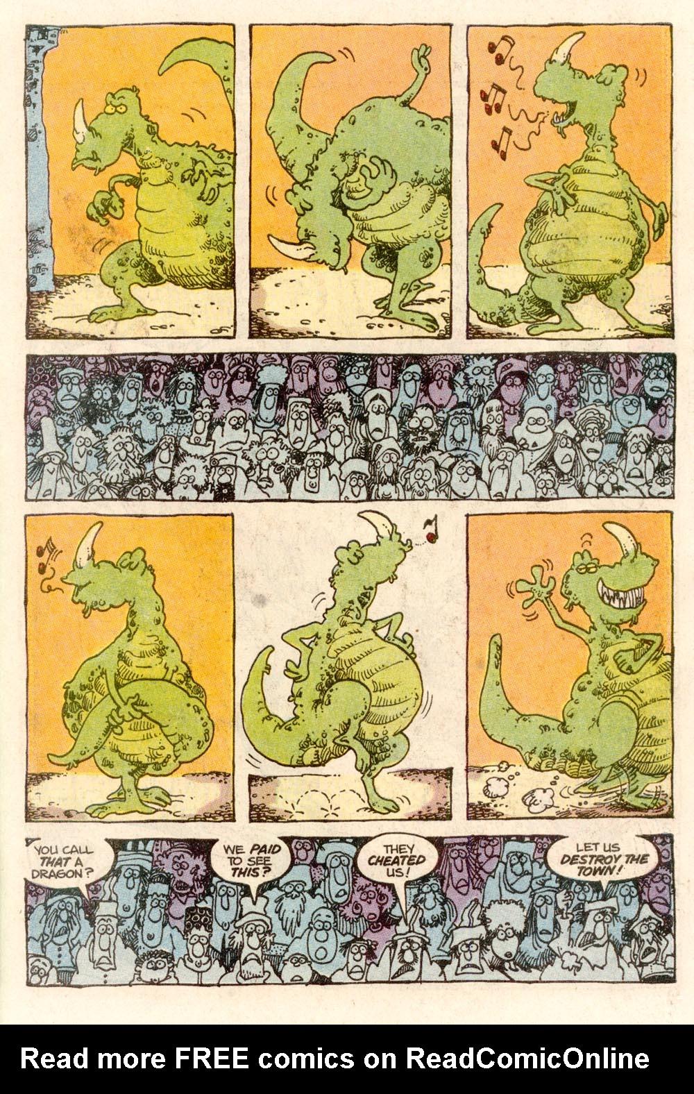 Read online Sergio Aragonés Groo the Wanderer comic -  Issue #67 - 22