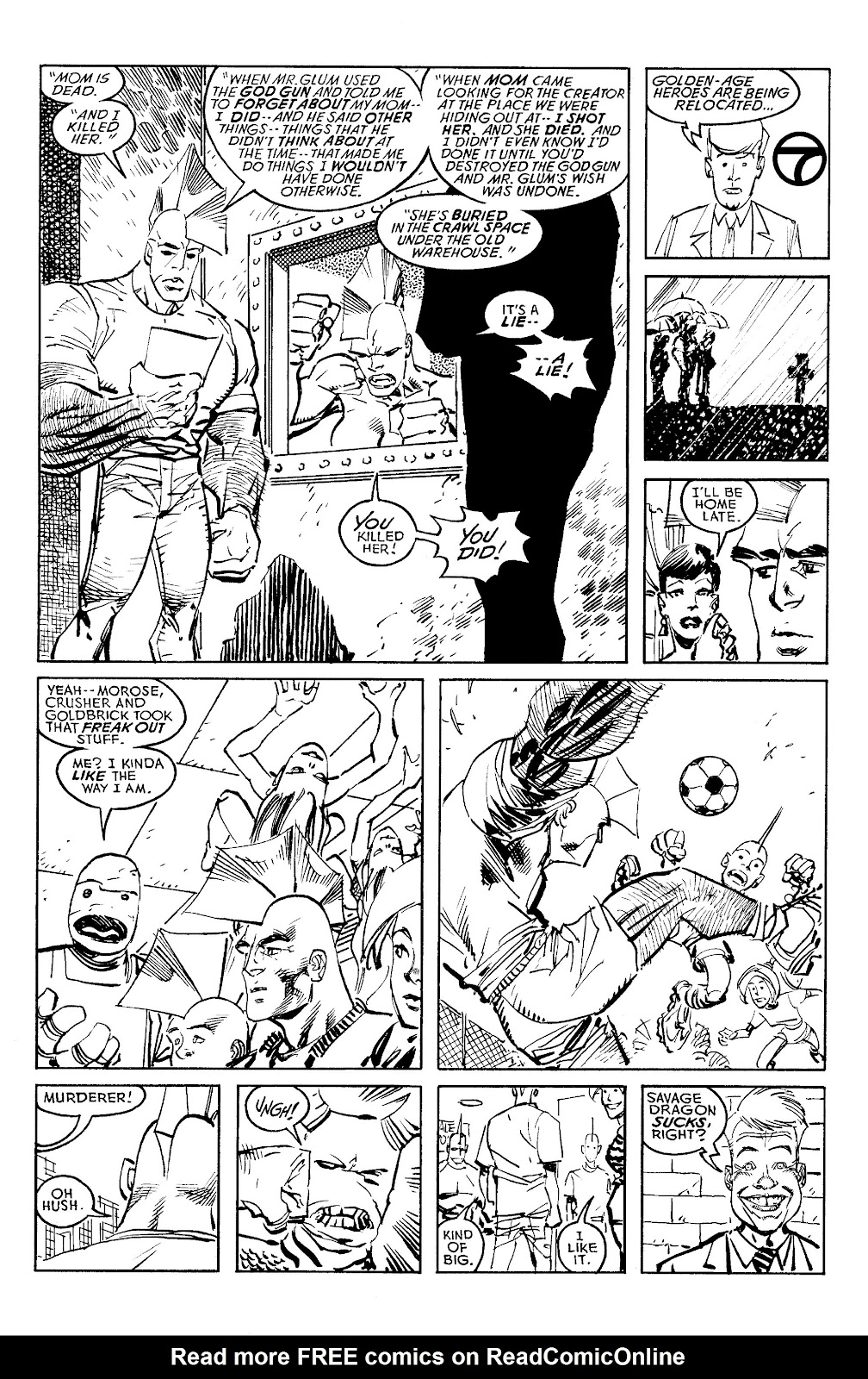 Read online Savage Dragon Archives comic -  Issue # TPB 6 (Part 4) - 58