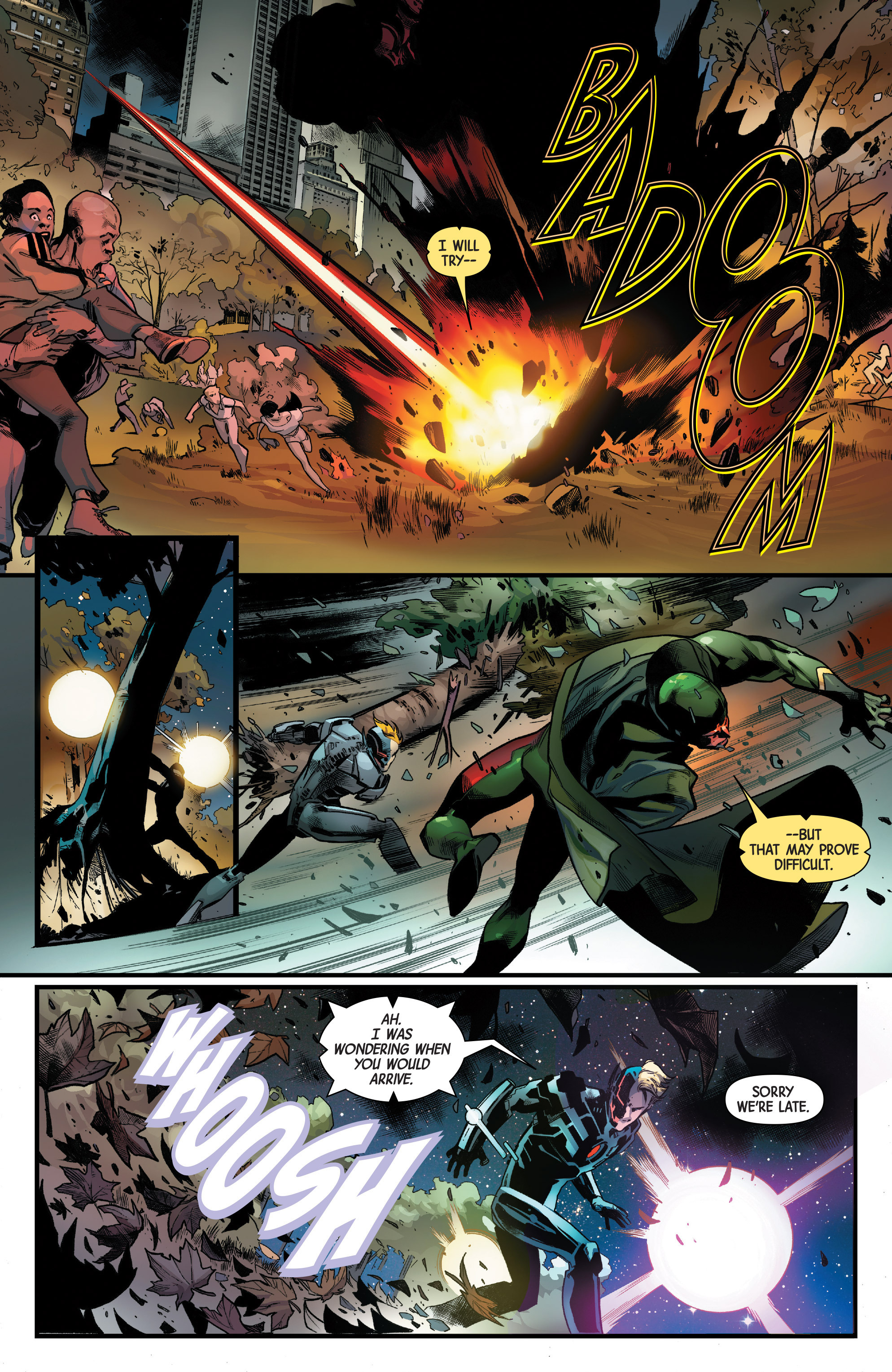 Read online Uncanny Avengers [II] comic -  Issue #11 - 11