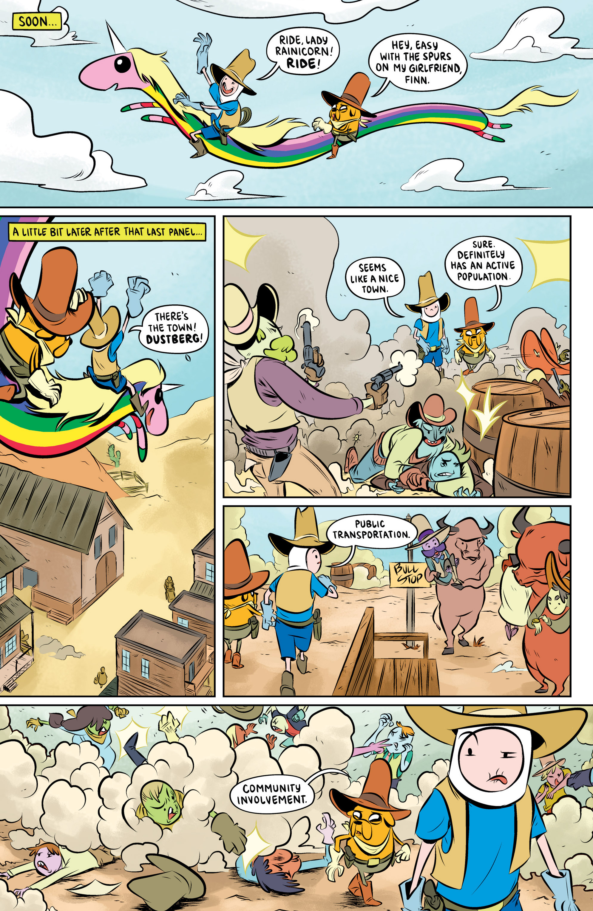 Read online Adventure Time: The Flip Side comic -  Issue #5 - 12