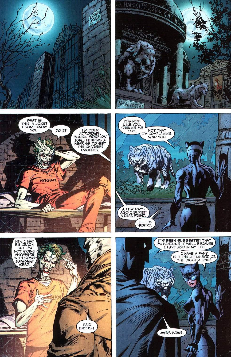 Read online Batman: Hush comic -  Issue #8 - 19