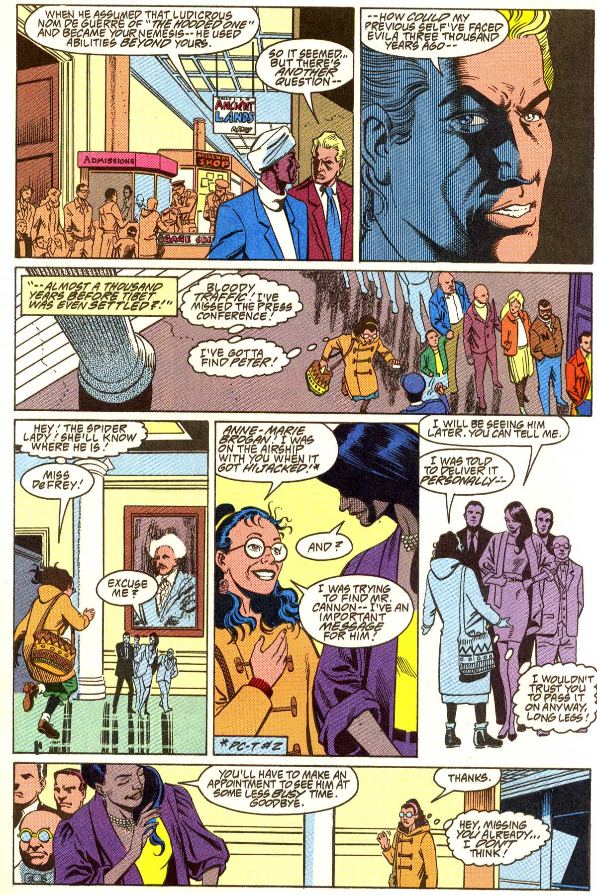 Read online Peter Cannon--Thunderbolt (1992) comic -  Issue #5 - 8