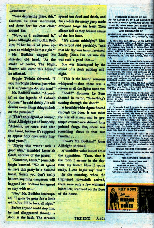 Read online Adventures into Weird Worlds comic -  Issue #27 - 17