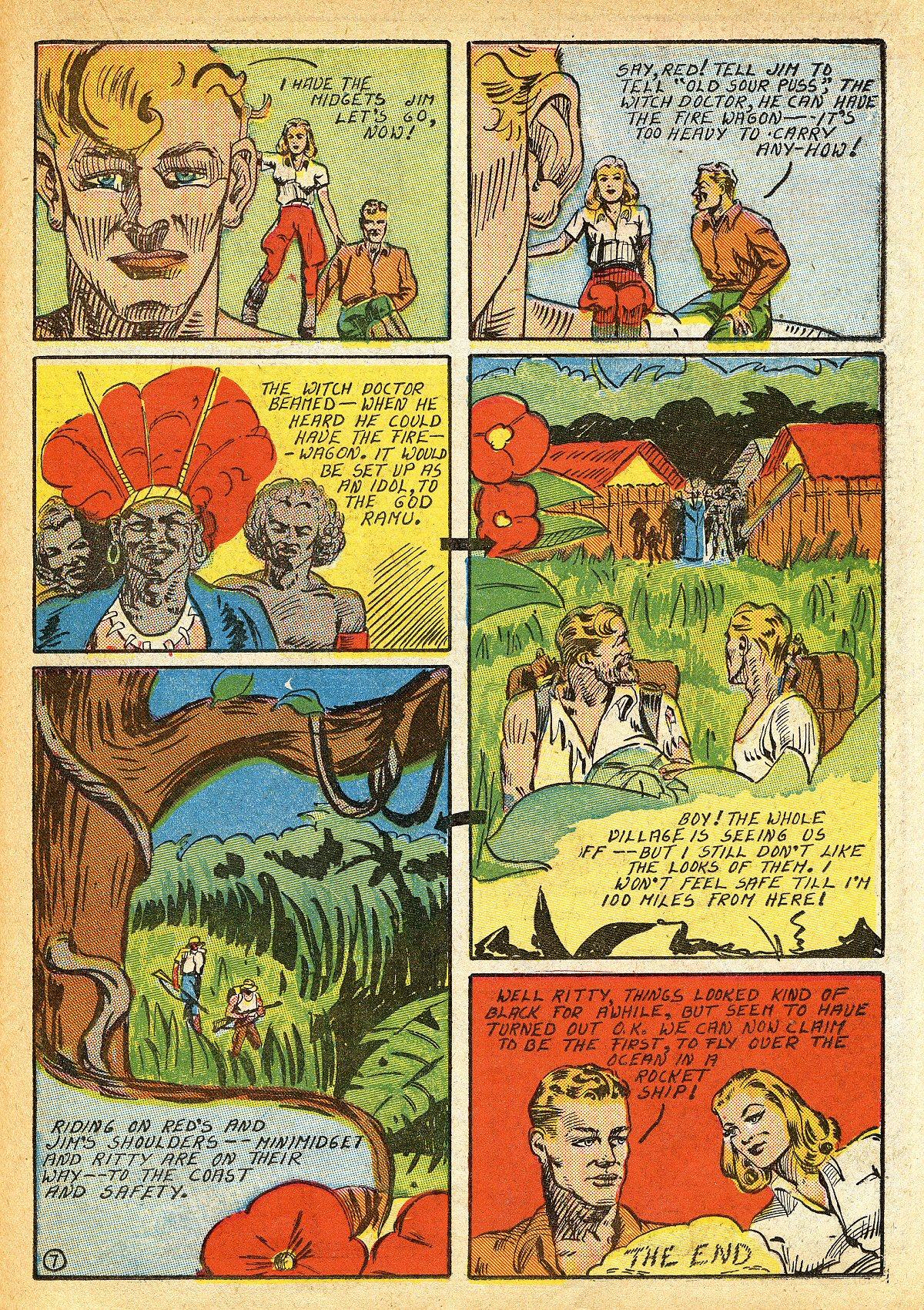 Read online Amazing Man Comics comic -  Issue #10 - 44