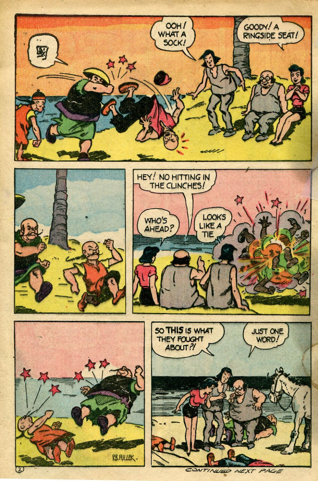 Read online Famous Funnies comic -  Issue #135 - 32