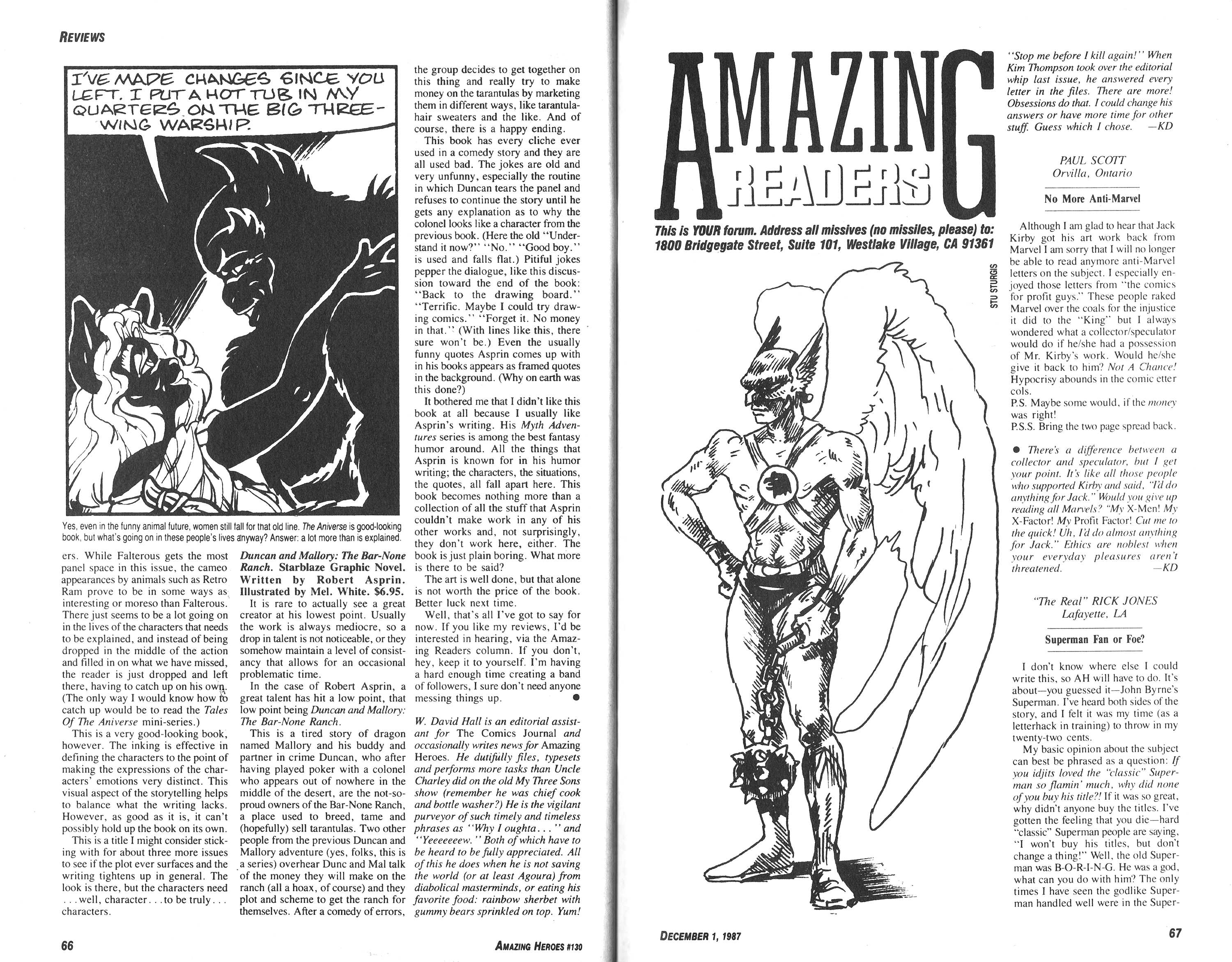 Read online Amazing Heroes comic -  Issue #130 - 34