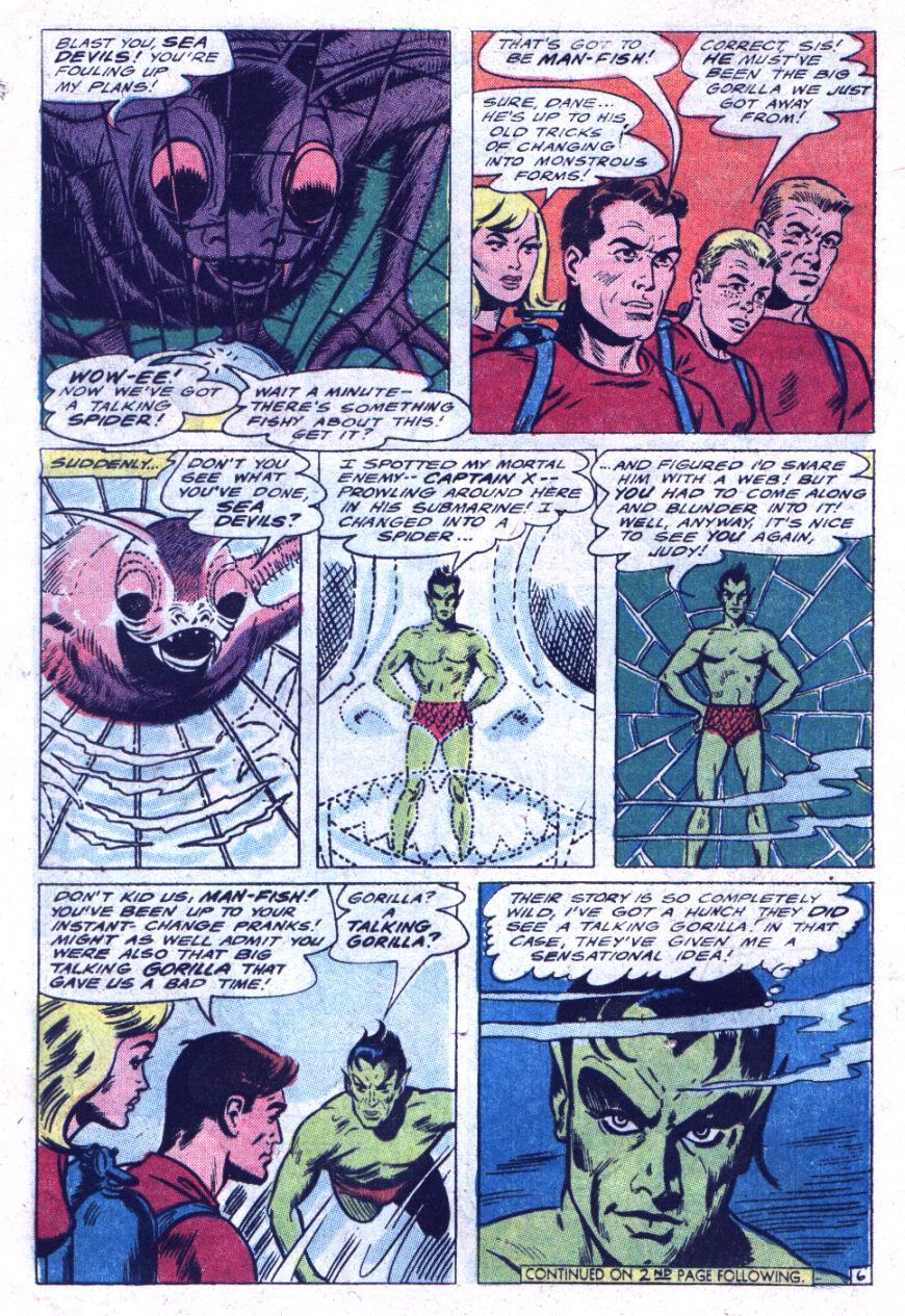 Read online Sea Devils comic -  Issue #30 - 9