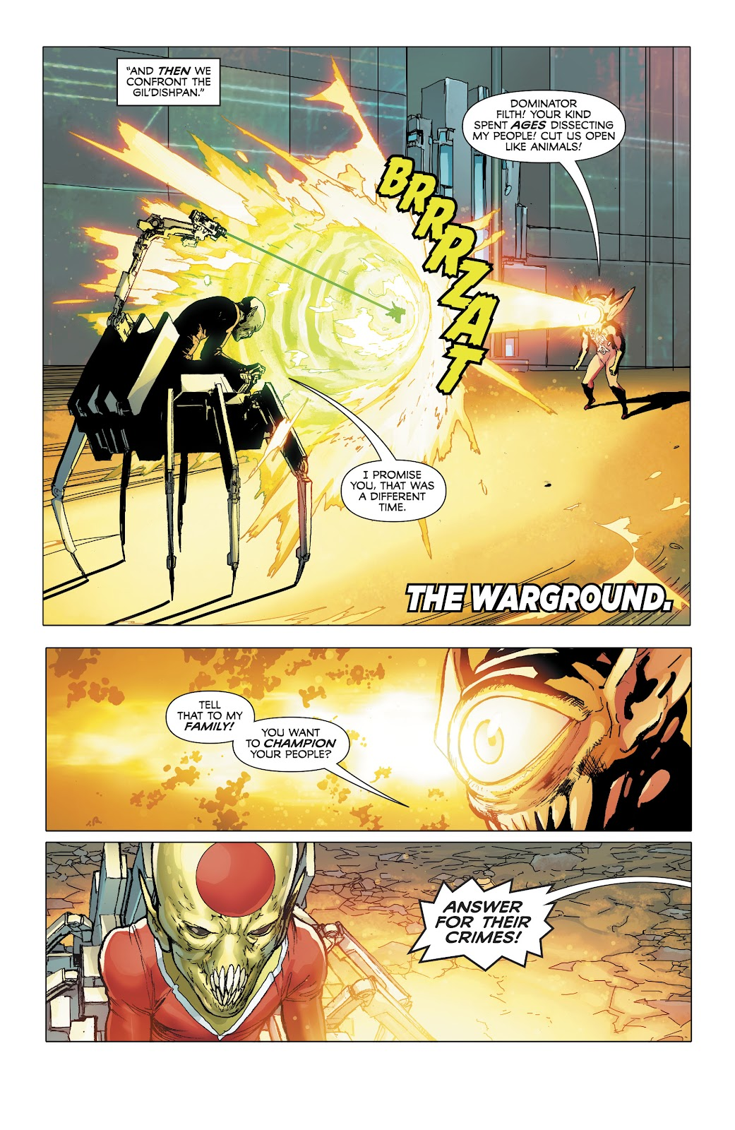 Read online Electric Warriors comic -  Issue #4 - 6