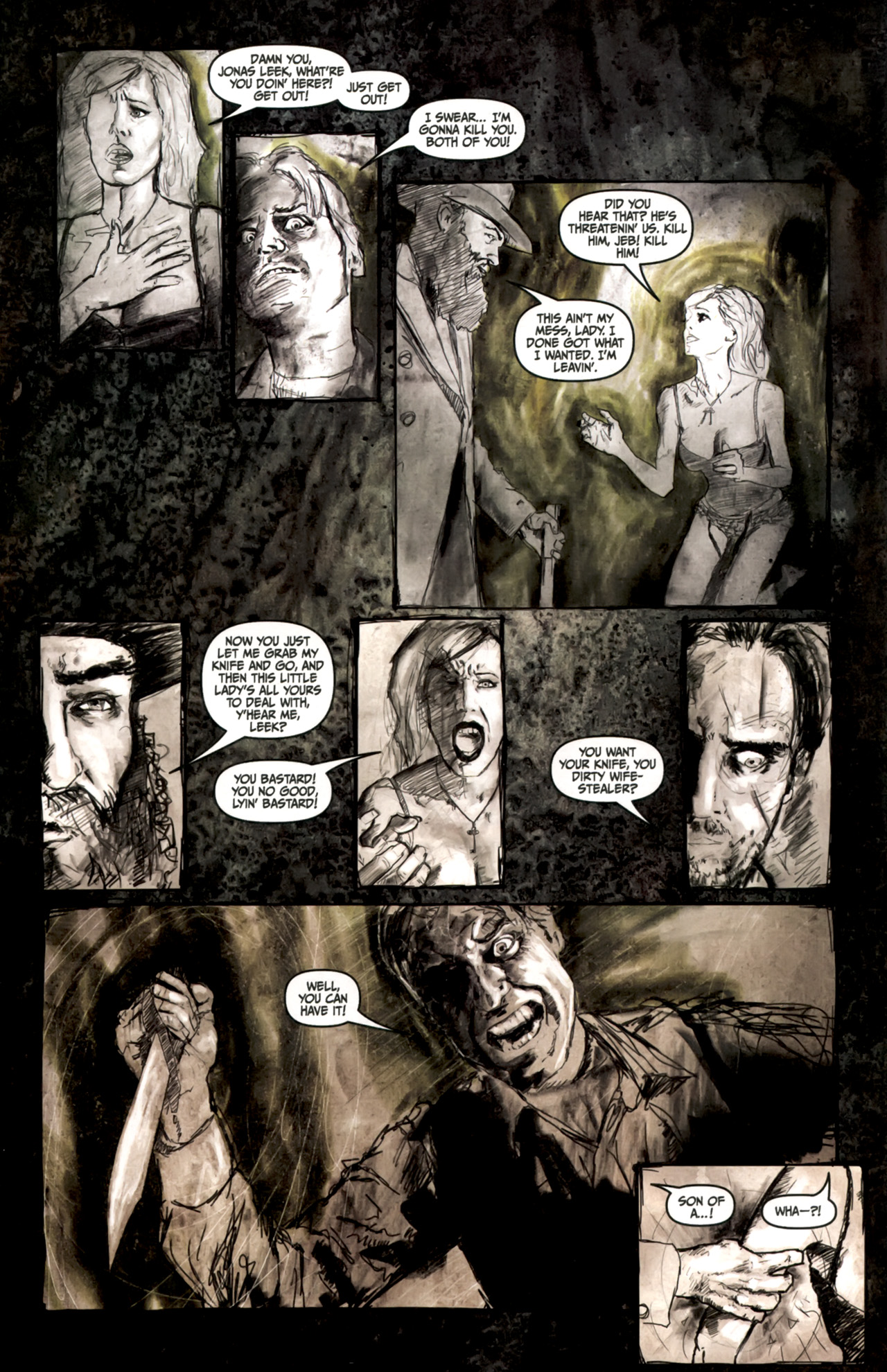Read online Silent Hill: Past Life comic -  Issue #3 - 7