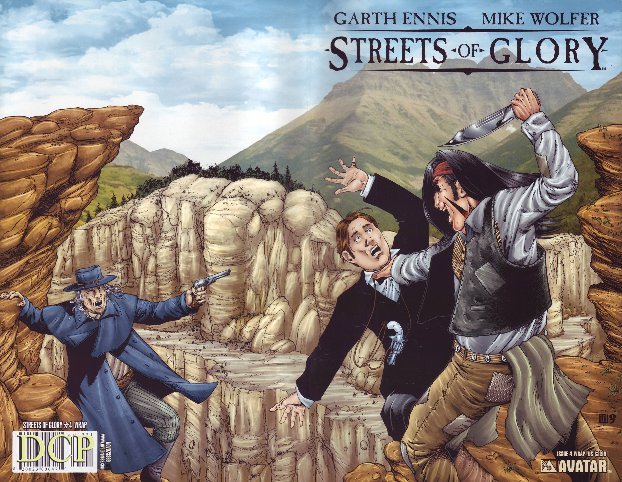Read online Garth Ennis' Streets of Glory comic -  Issue #4 - 1
