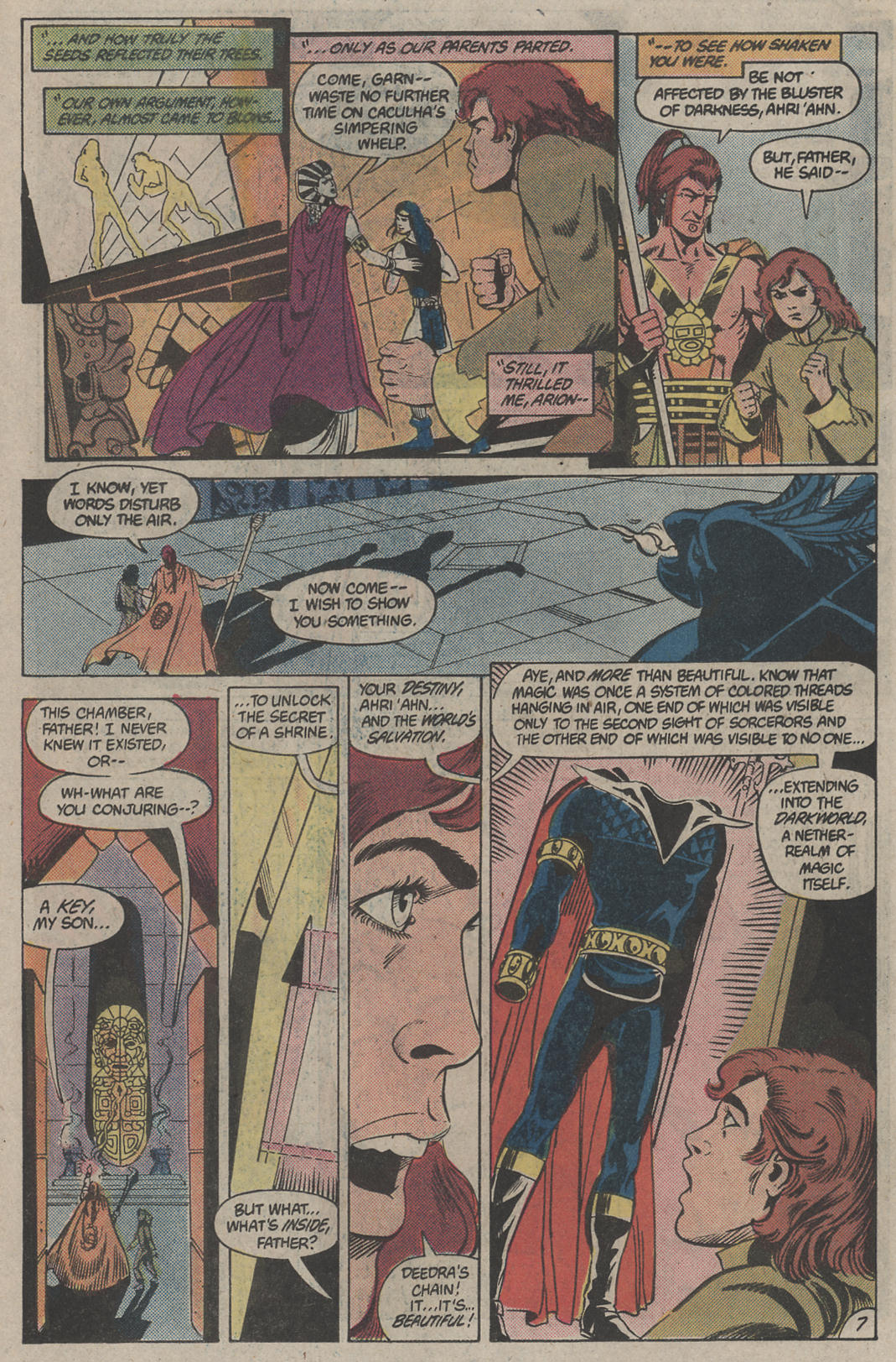 Read online Arion, Lord of Atlantis comic -  Issue #4 - 7