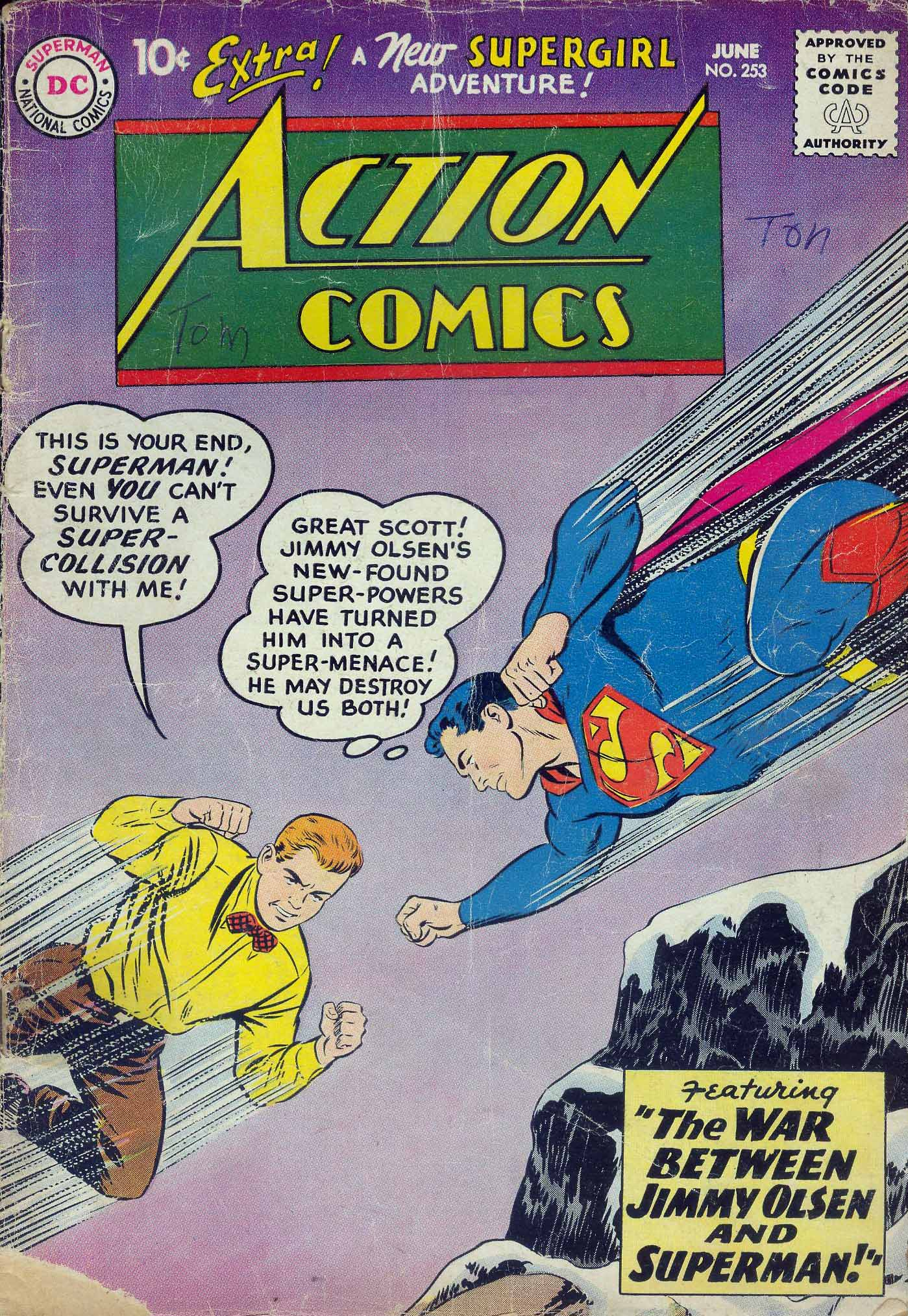 Action Comics (1938) 253 Page 1