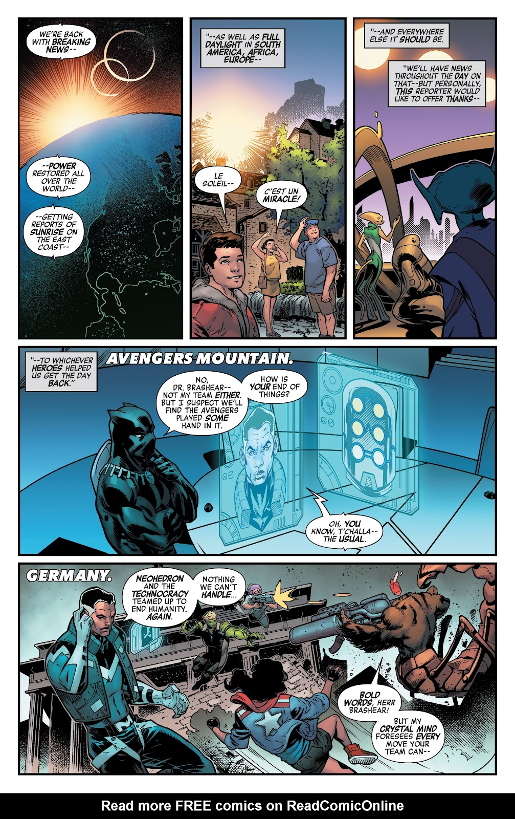 Read online Avengers No Road Home comic -  Issue #10 - 21