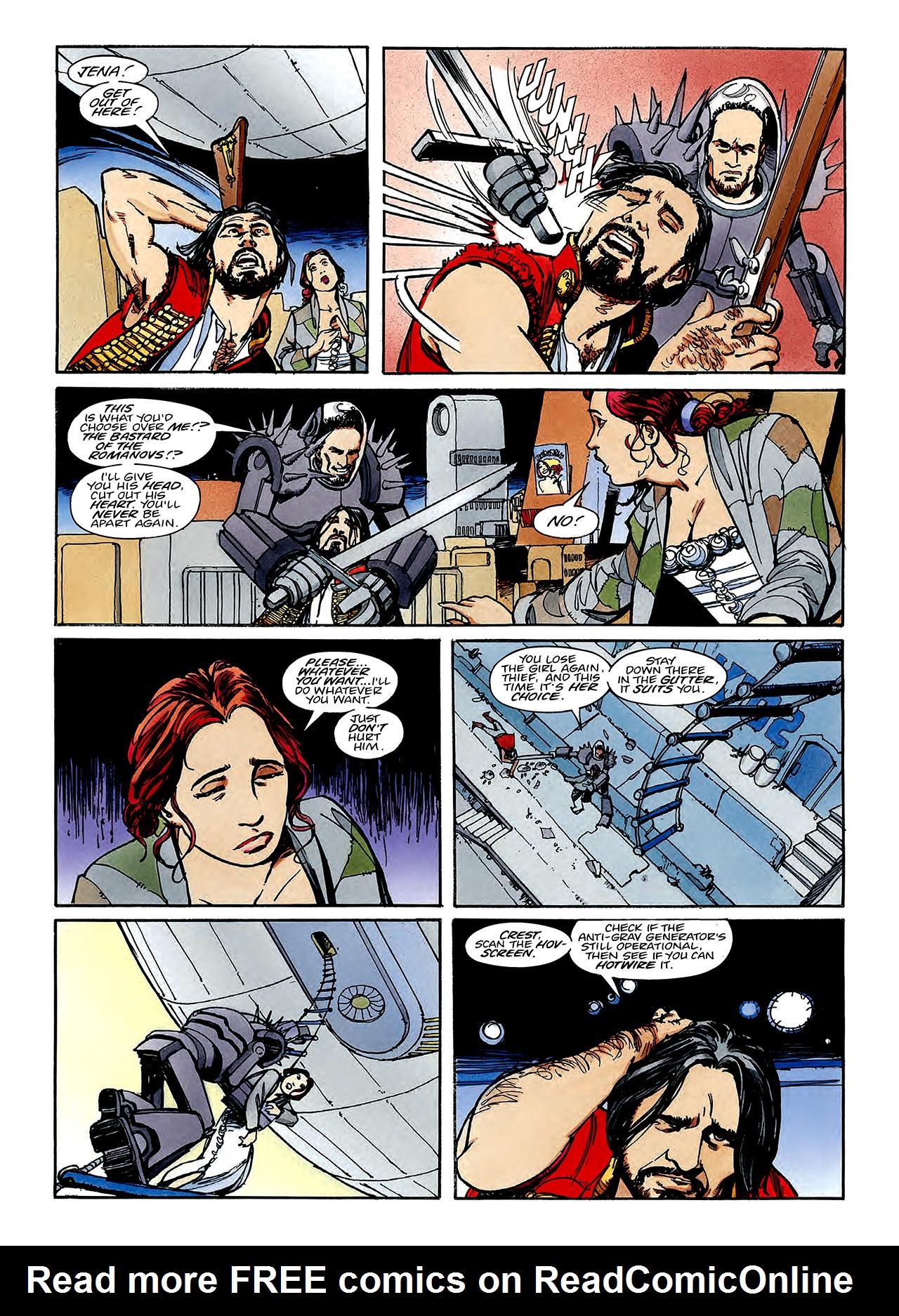 Read online Nikolai Dante comic -  Issue # TPB 3 - 108