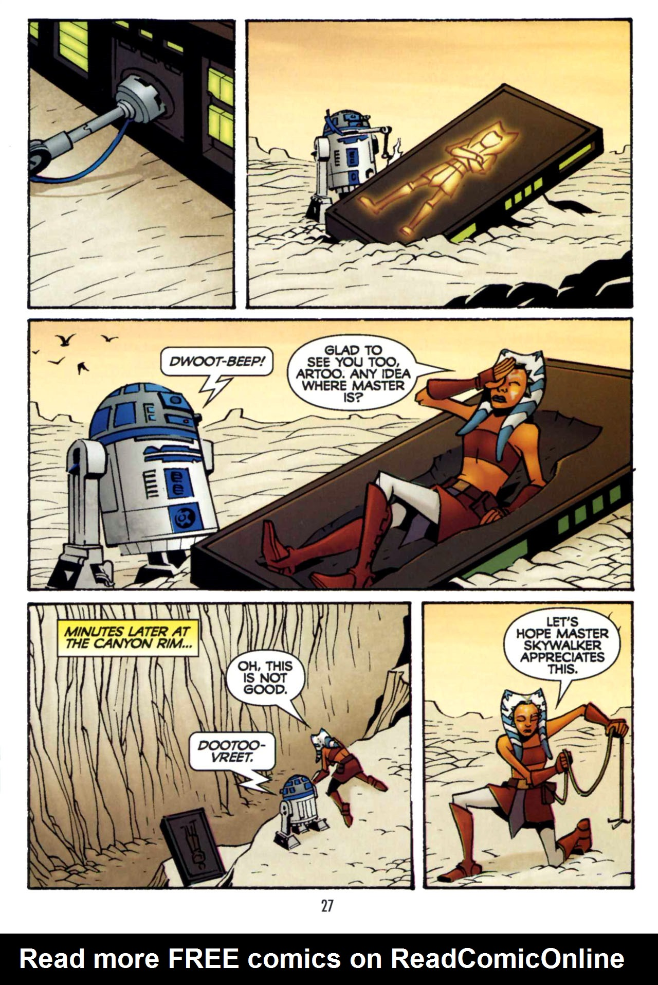 Read online Star Wars: The Clone Wars - Shipyards of Doom comic -  Issue # Full - 26