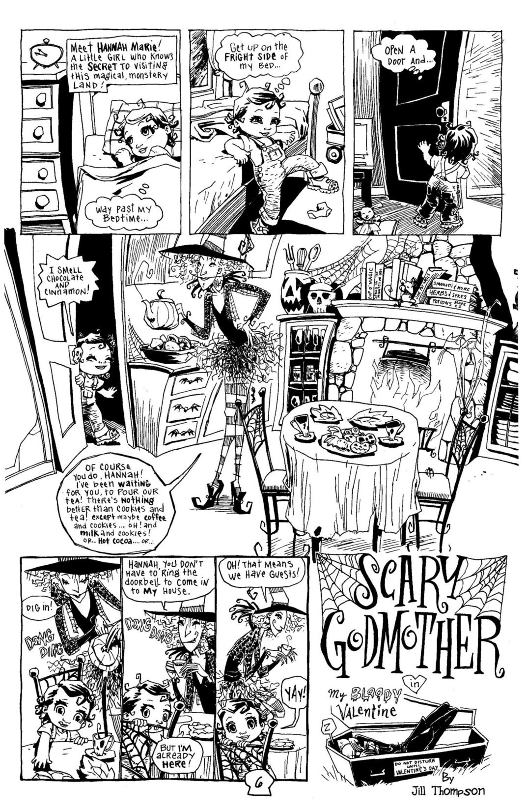 Read online Scary Godmother Comic Book Stories comic -  Issue # TPB - 7