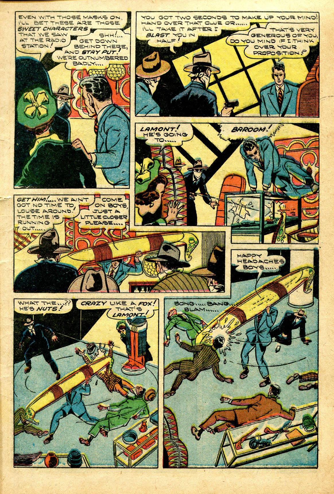 Read online Shadow Comics comic -  Issue #96 - 9