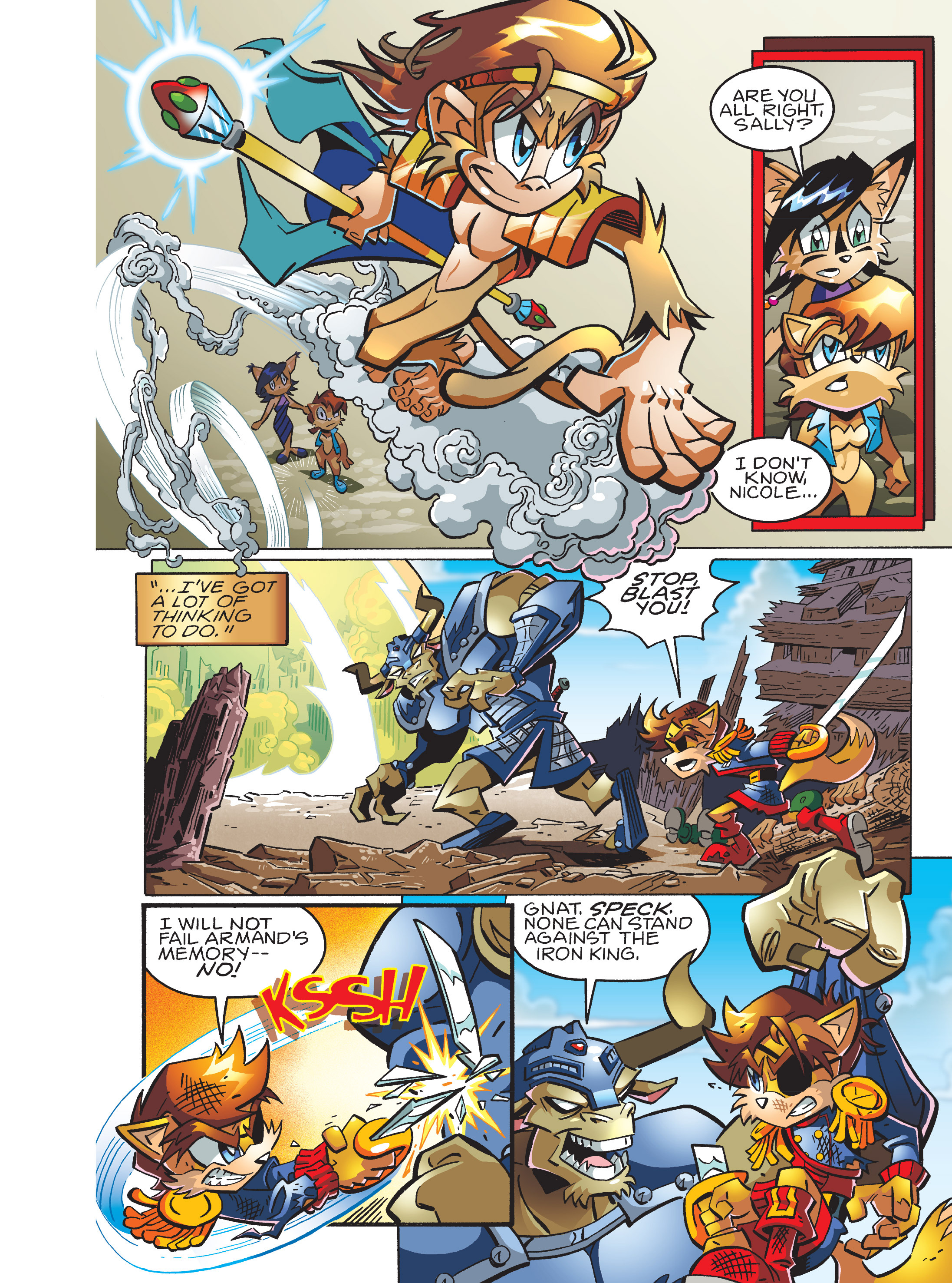 Read online Sonic Super Digest comic -  Issue #7 - 48