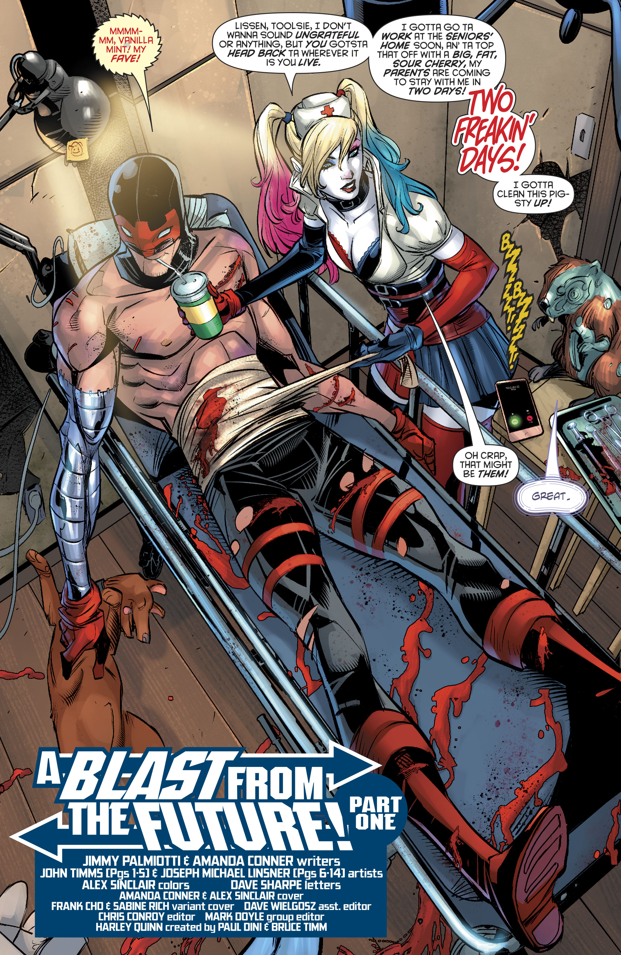 Read online Harley Quinn (2016) comic -  Issue #20 - 6