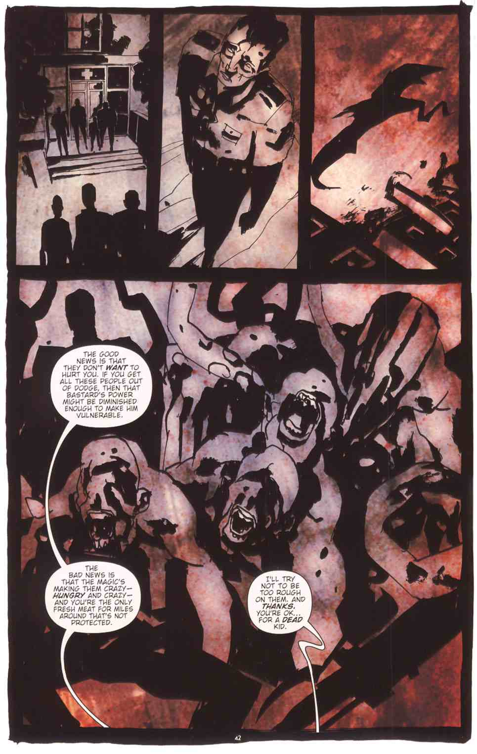 Read online Silent Hill: The Grinning Man comic -  Issue # Full - 43