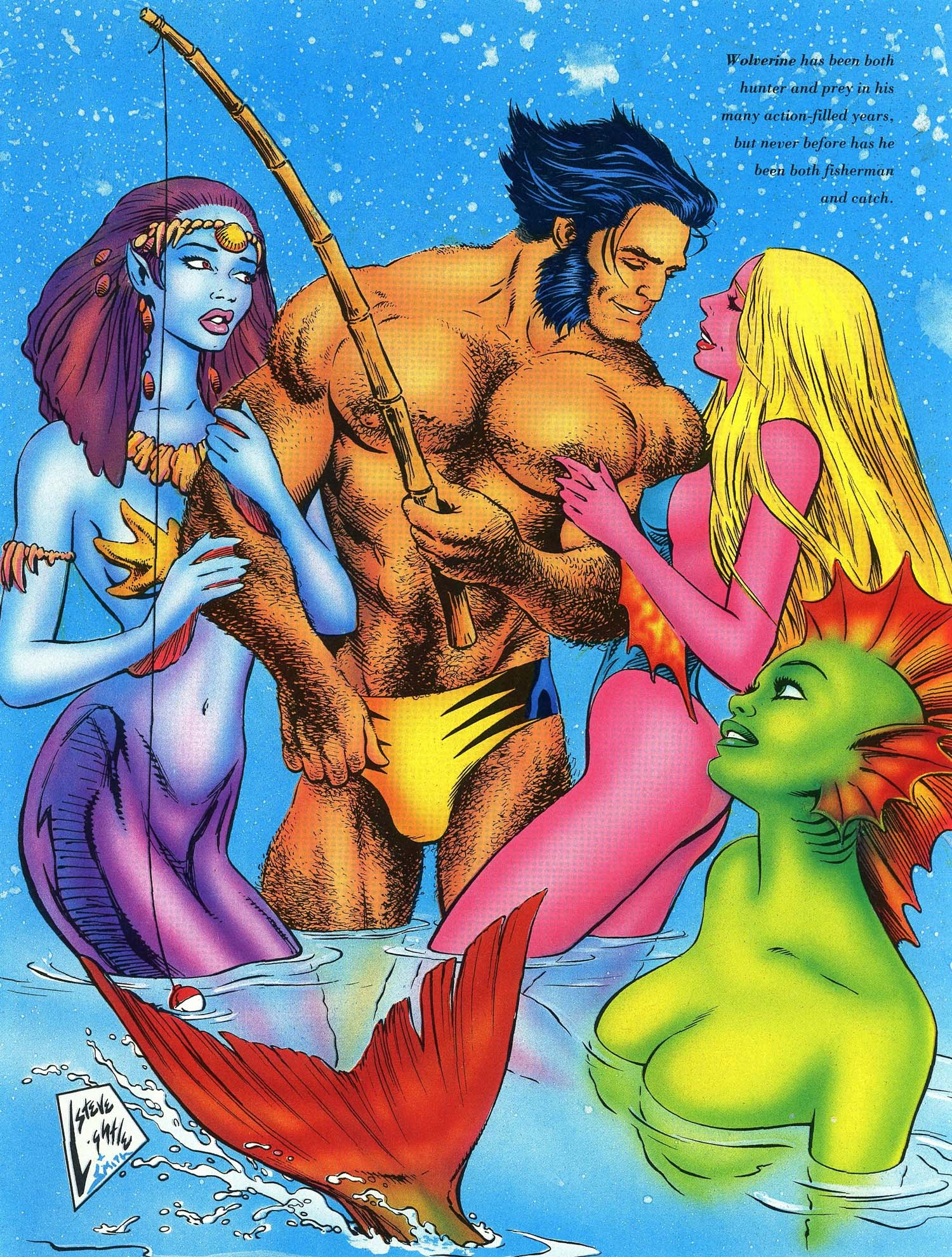 Read online Marvel Swimsuit Special comic -  Issue #3 - 10