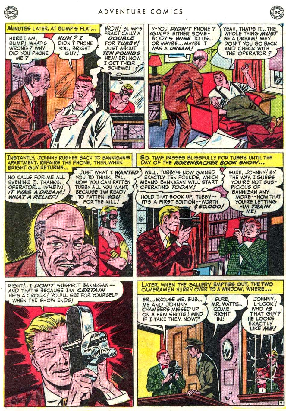 Read online Adventure Comics (1938) comic -  Issue #156 - 22