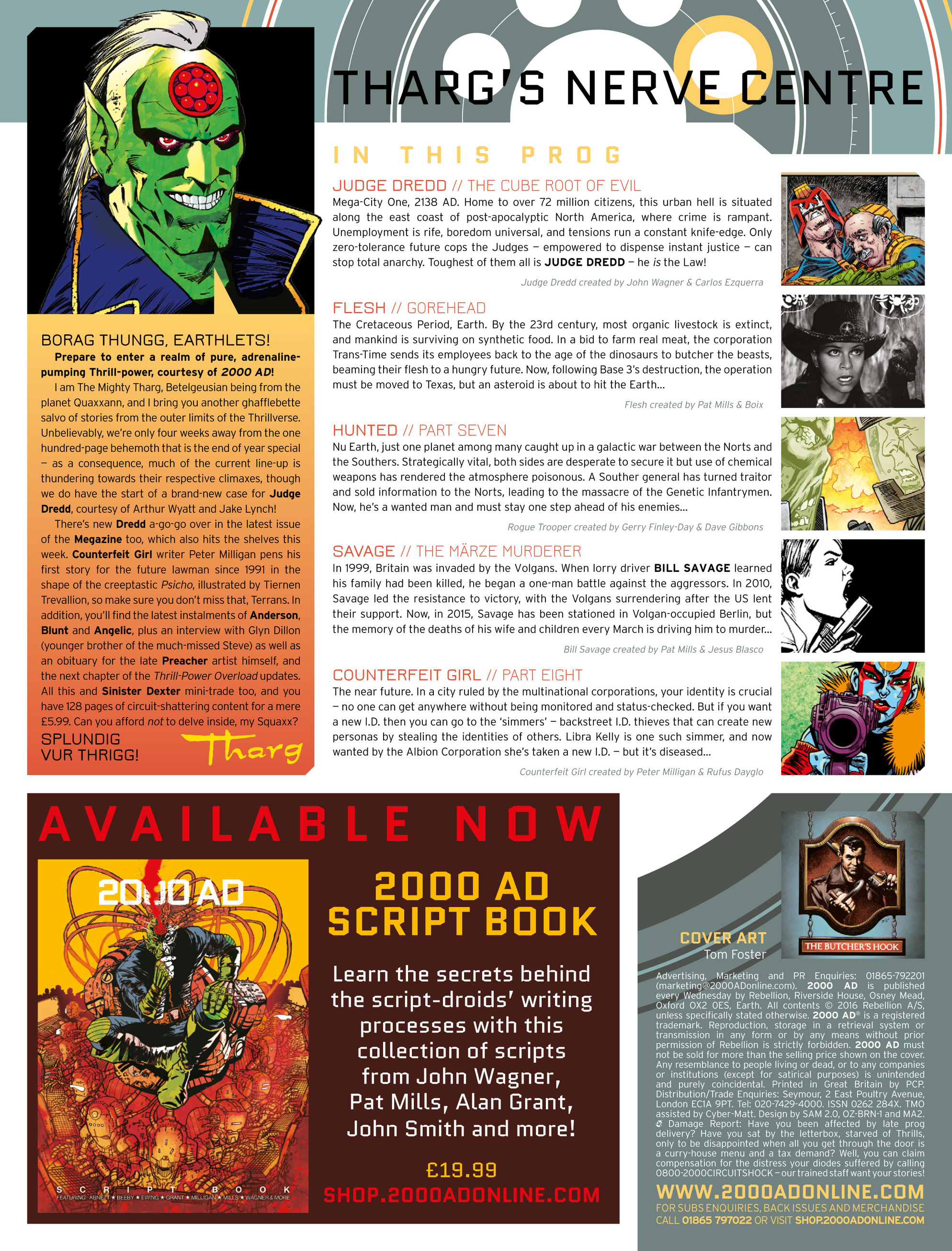 Read online 2000 AD comic -  Issue #2007 - 2