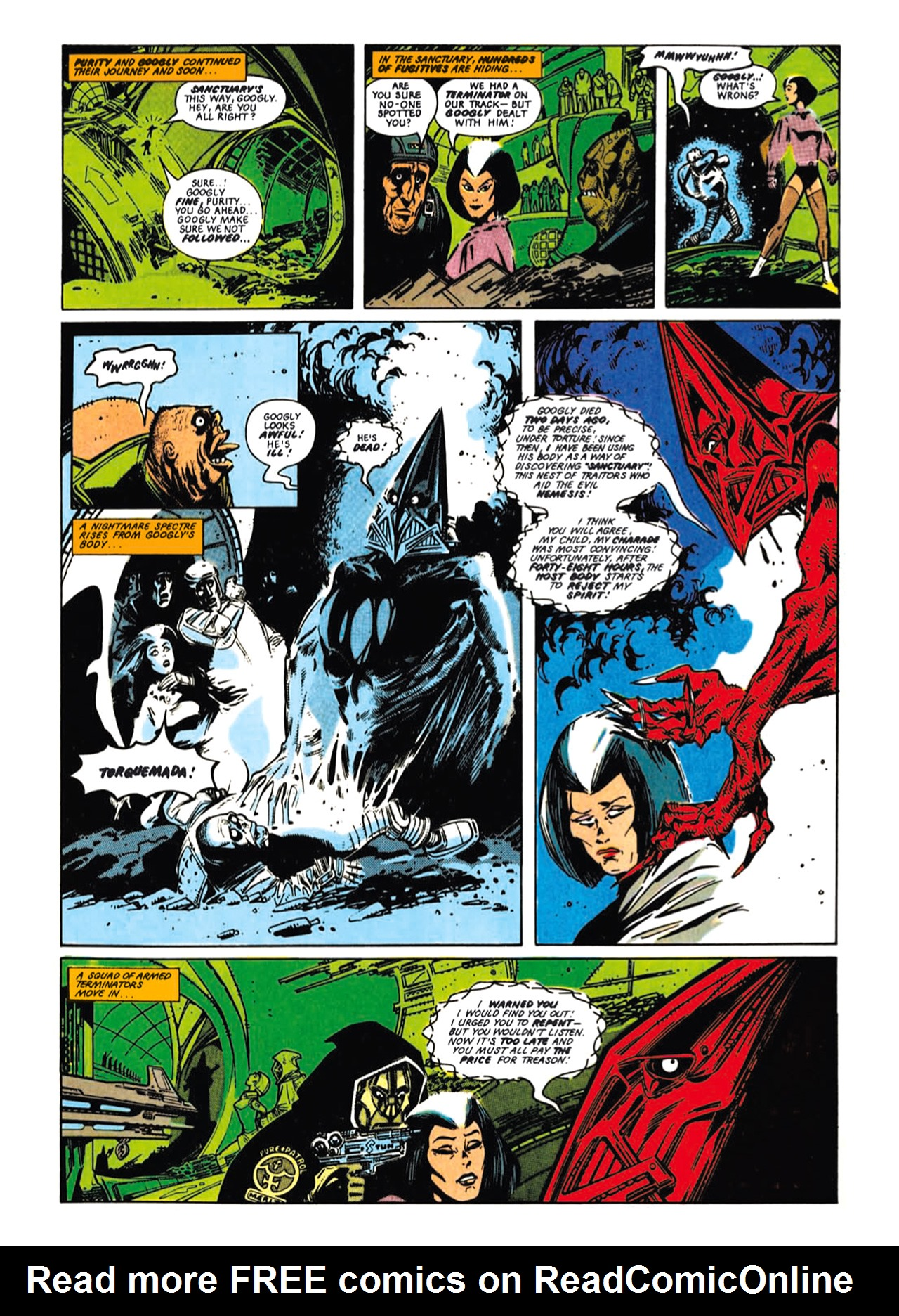 Read online Nemesis The Warlock comic -  Issue # TPB Deviant Edition - 42