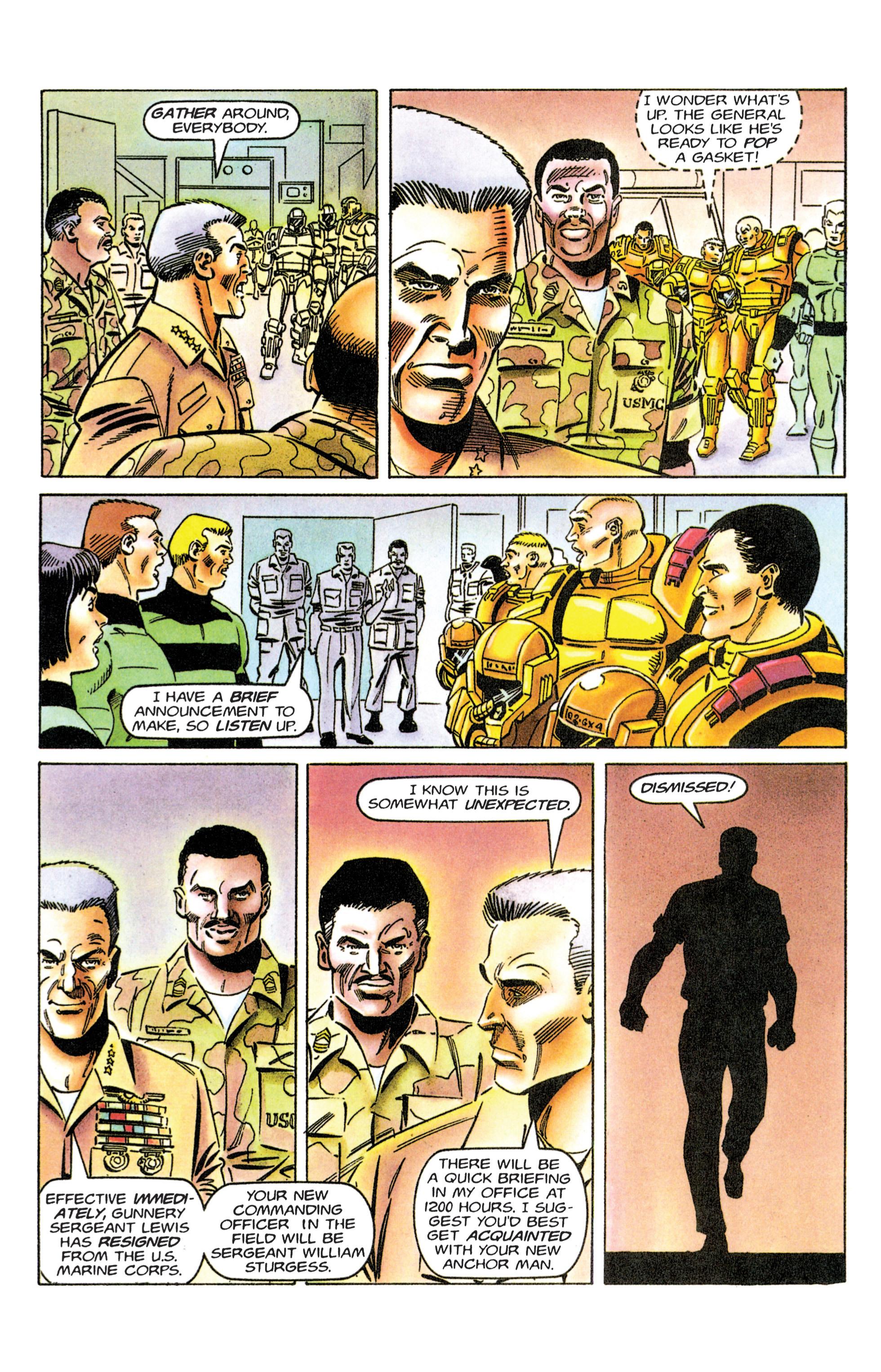 Read online Armorines comic -  Issue #12 - 12