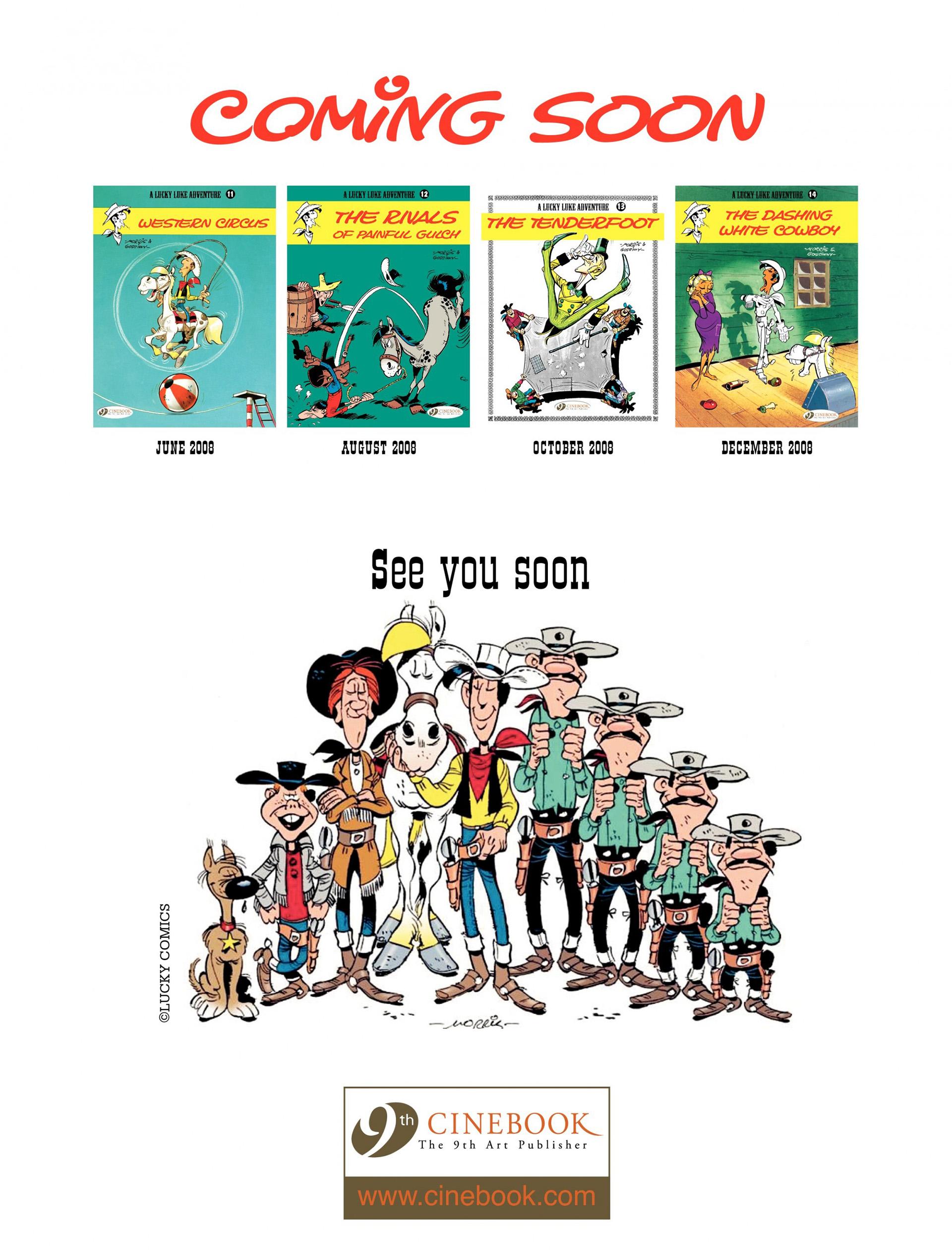 Read online A Lucky Luke Adventure comic -  Issue #10 - 48