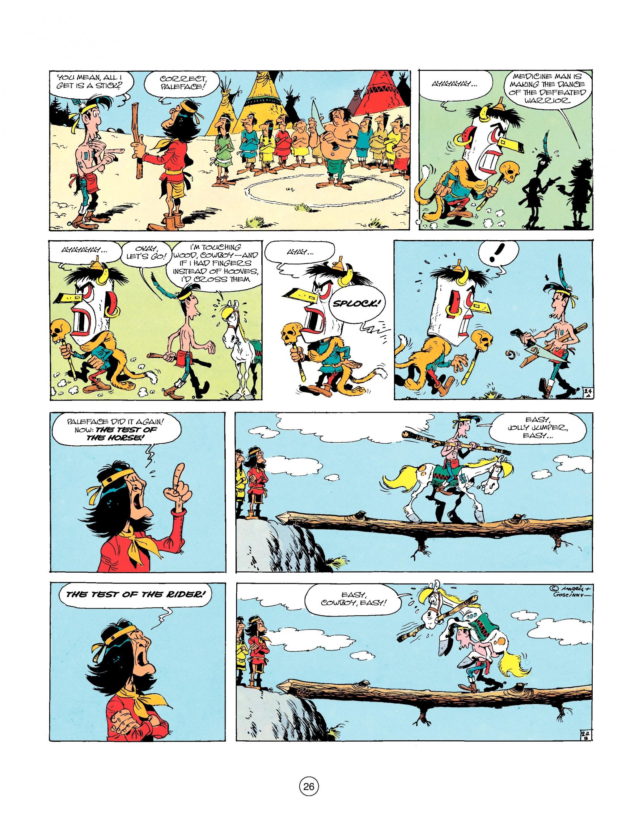 Read online A Lucky Luke Adventure comic -  Issue #17 - 26