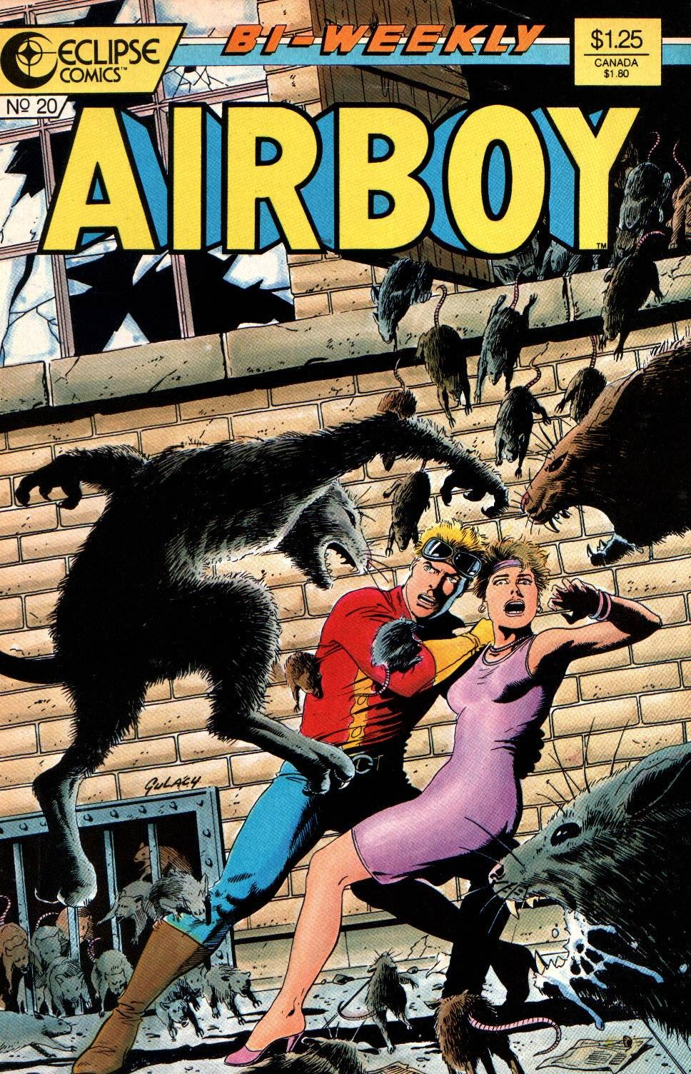 Airboy (1986) 20 Page 1