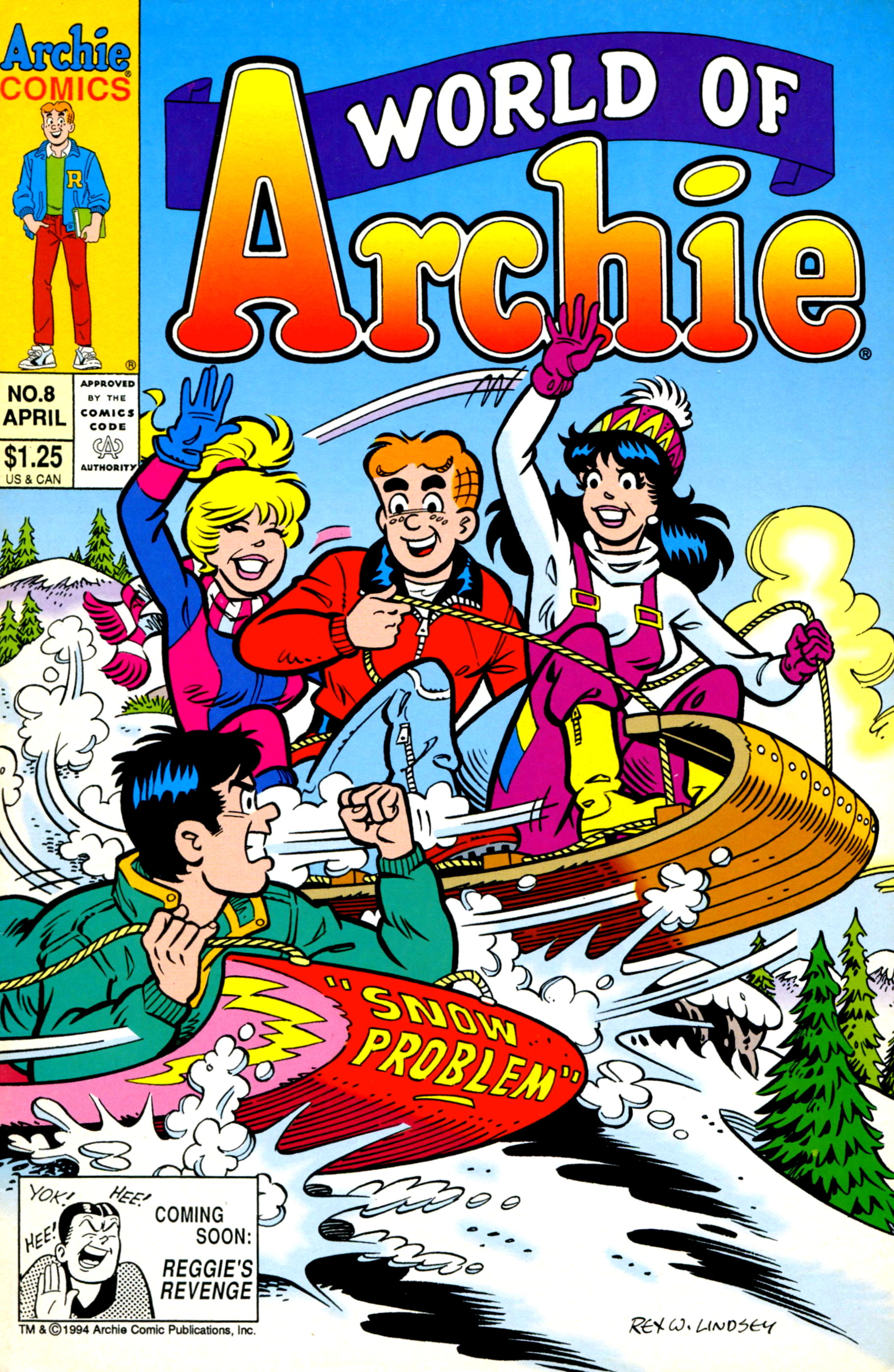 Read online World of Archie comic -  Issue #8 - 1