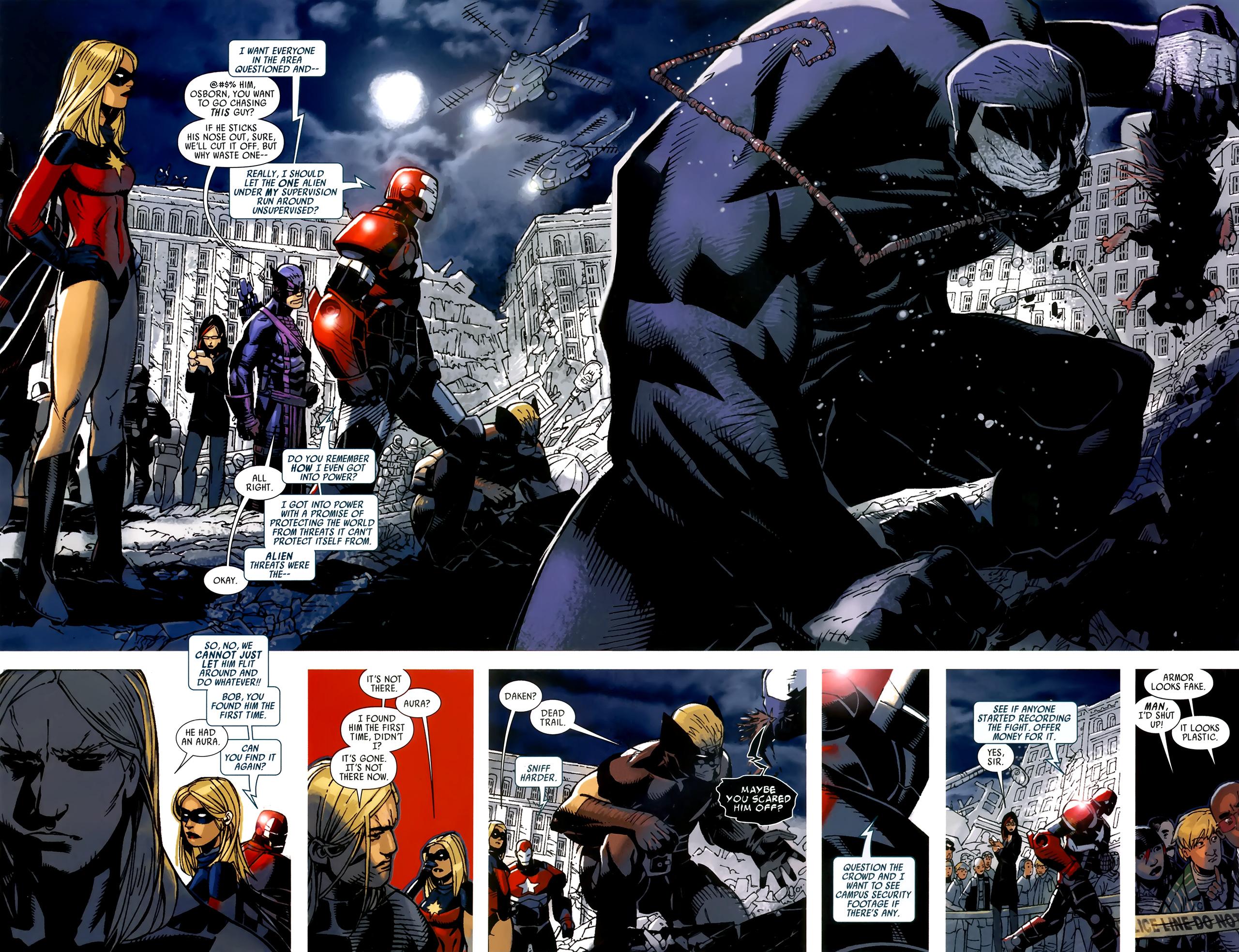Read online Dark Avengers (2009) comic -  Issue # _Annual 1 - 23