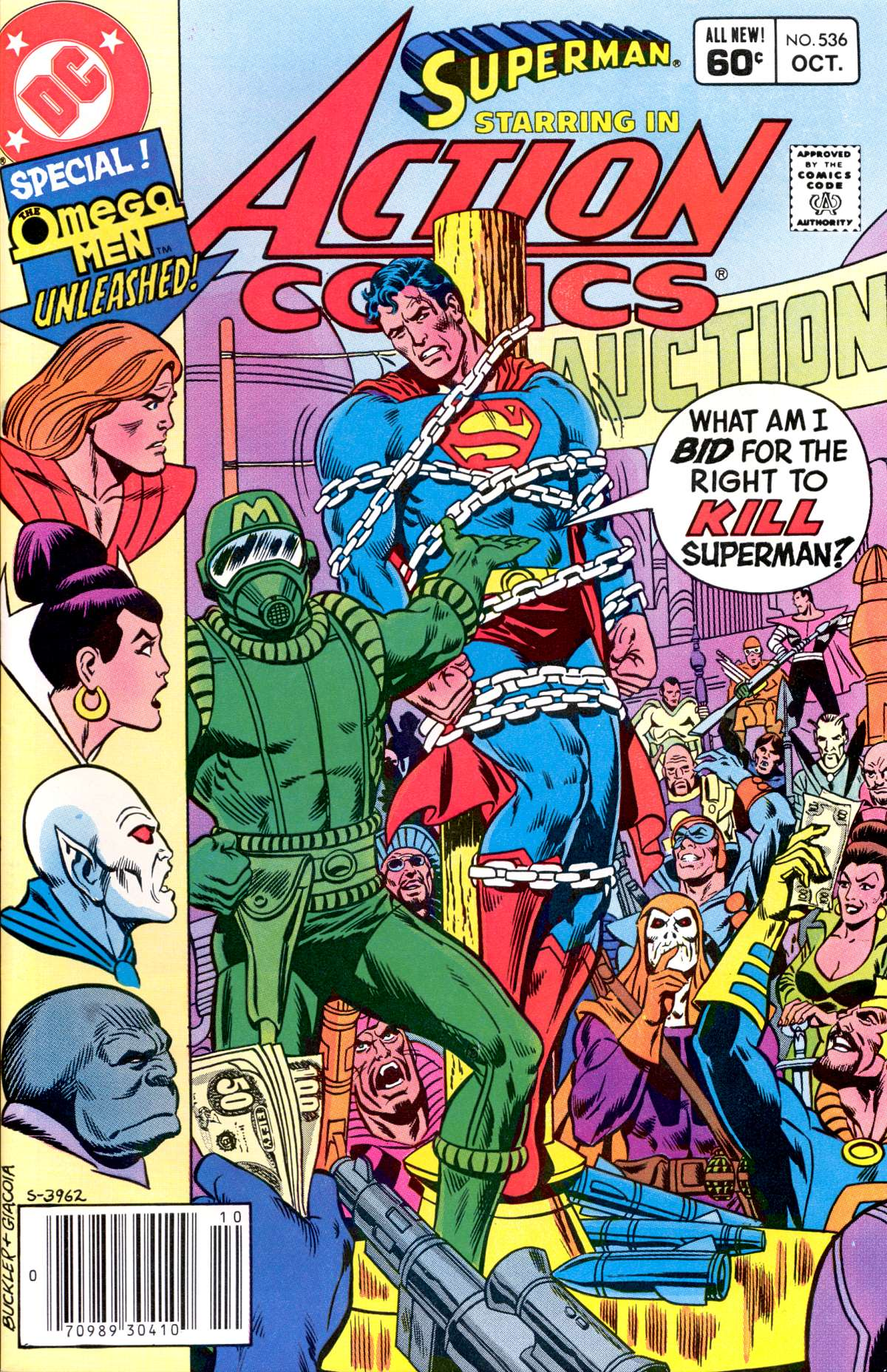 Read online Action Comics (1938) comic -  Issue #536 - 1