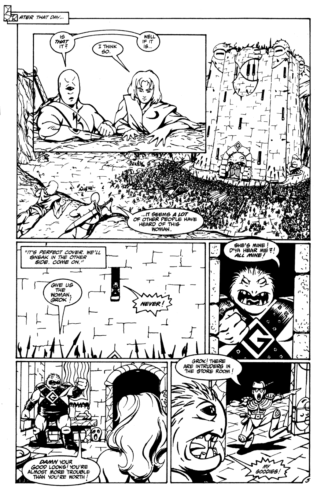 Shattered Earth issue 2 - Page 16