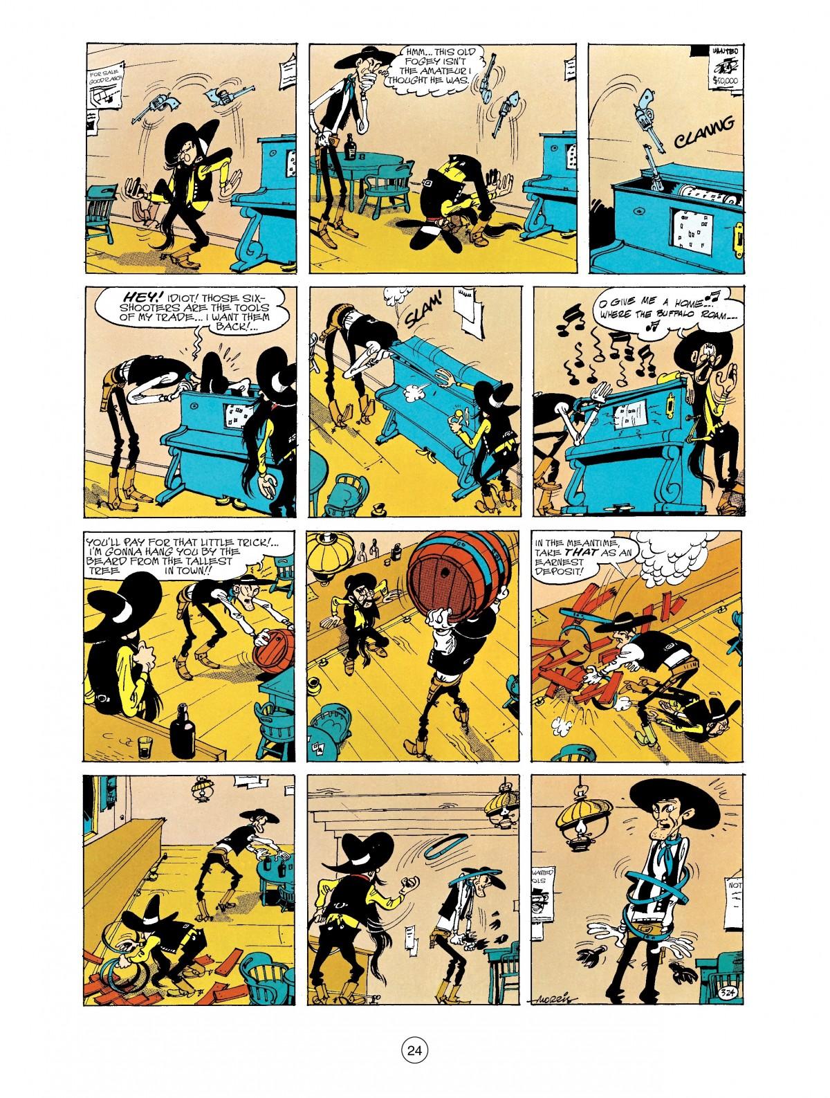 Read online A Lucky Luke Adventure comic -  Issue #40 - 24
