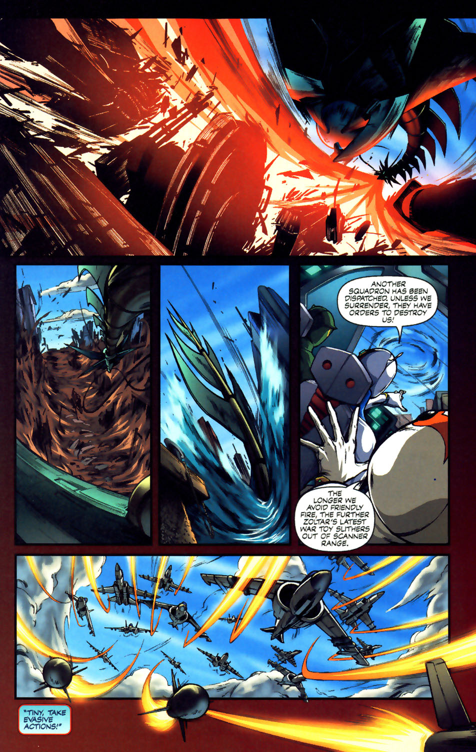 Battle of the Planets Issue #12 #14 - English 8