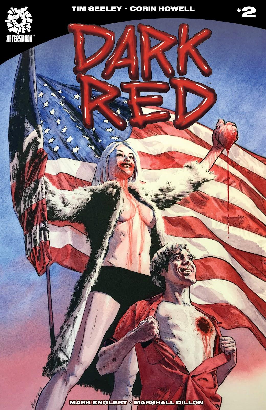 Dark Red issue 2 - Page 1
