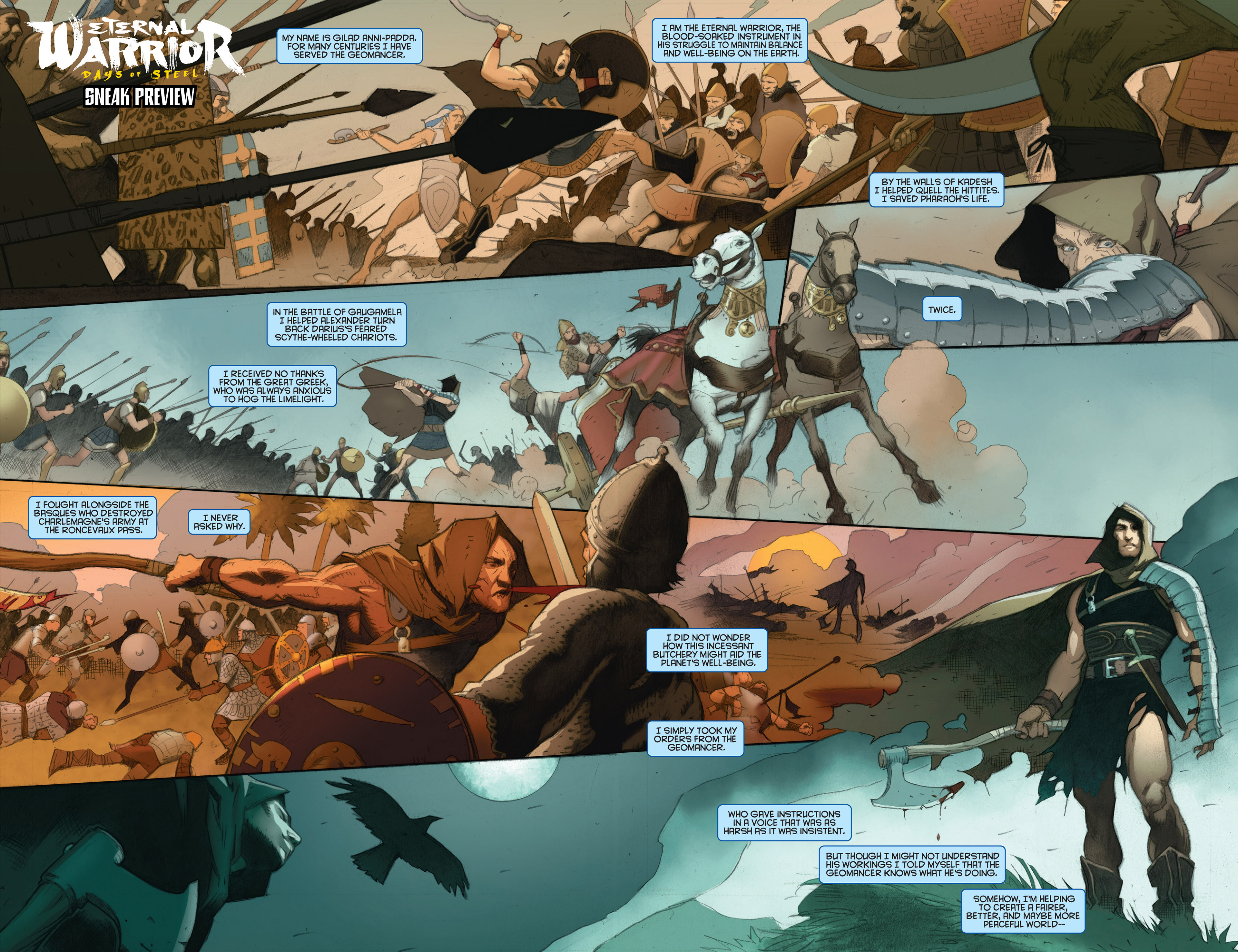 Read online Archer and Armstrong comic -  Issue #24 - 26