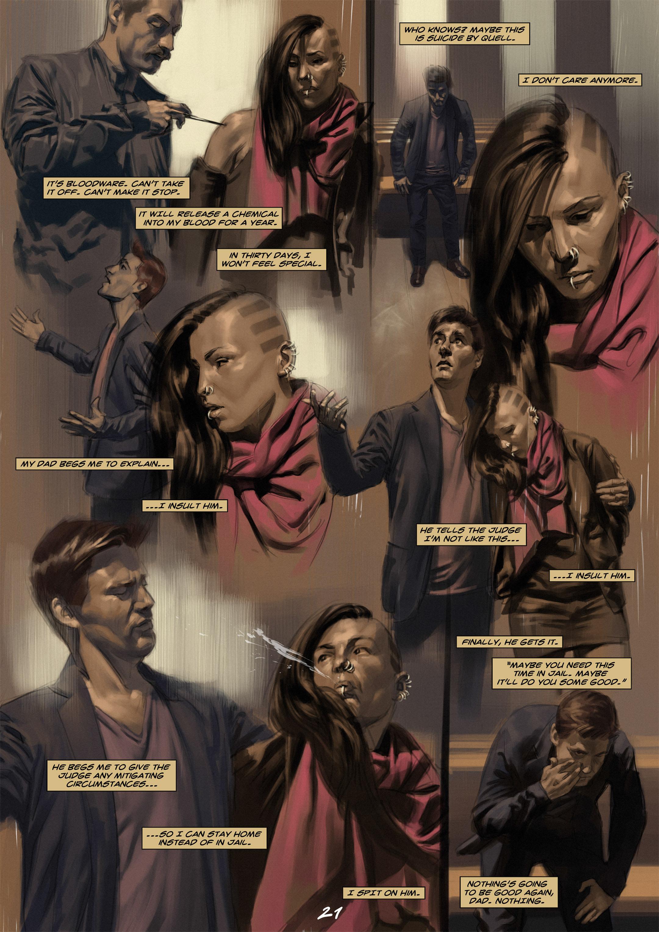 Read online Wynter comic -  Issue #1 - 21