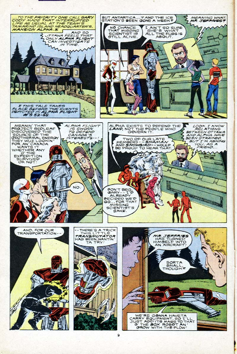 Read online Alpha Flight (1983) comic -  Issue # _Annual 2 - 10