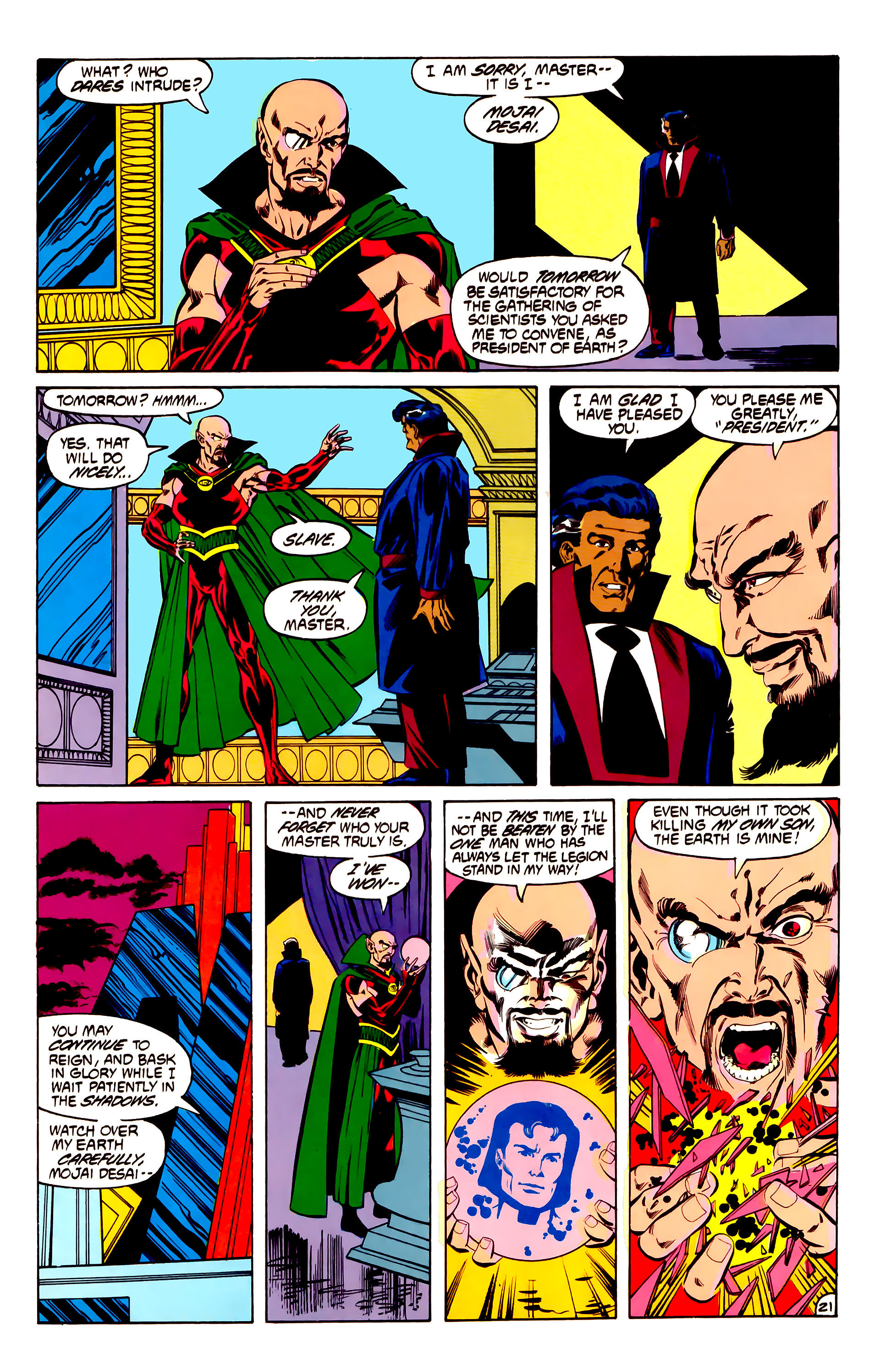 Legion of Super-Heroes (1984) 32 Page 20