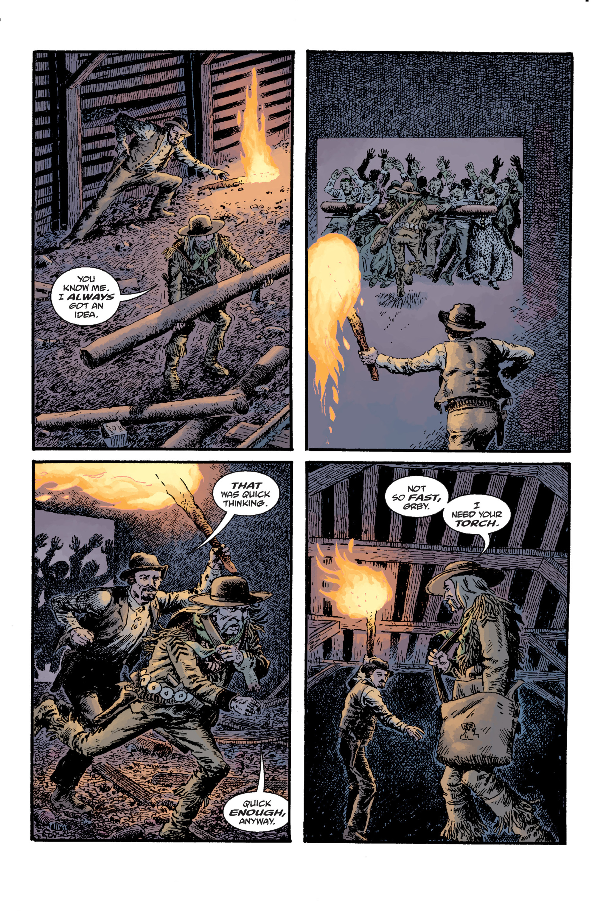 Read online Sir Edward Grey, Witchfinder: Lost and Gone Forever comic -  Issue # TPB - 95