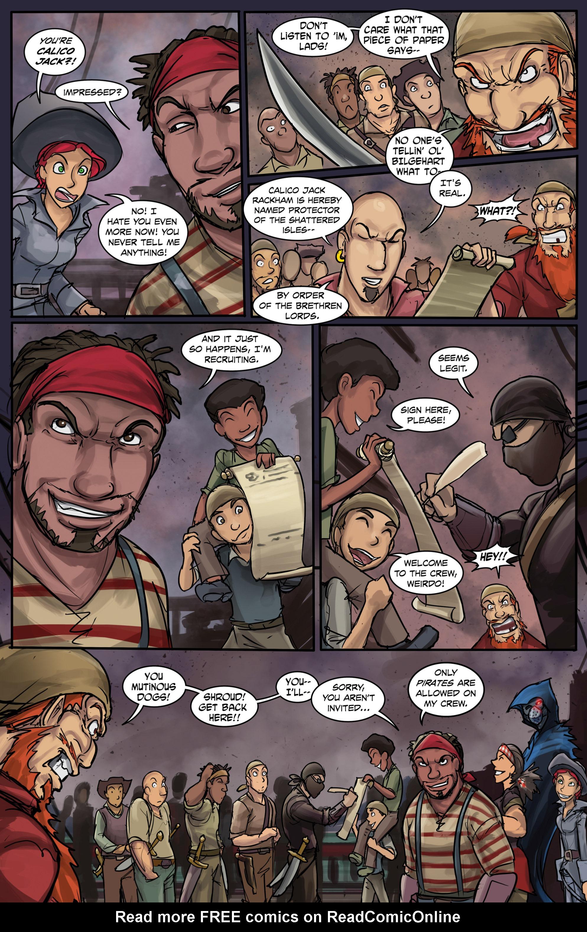 Read online Anne Bonnie comic -  Issue #6 - 23