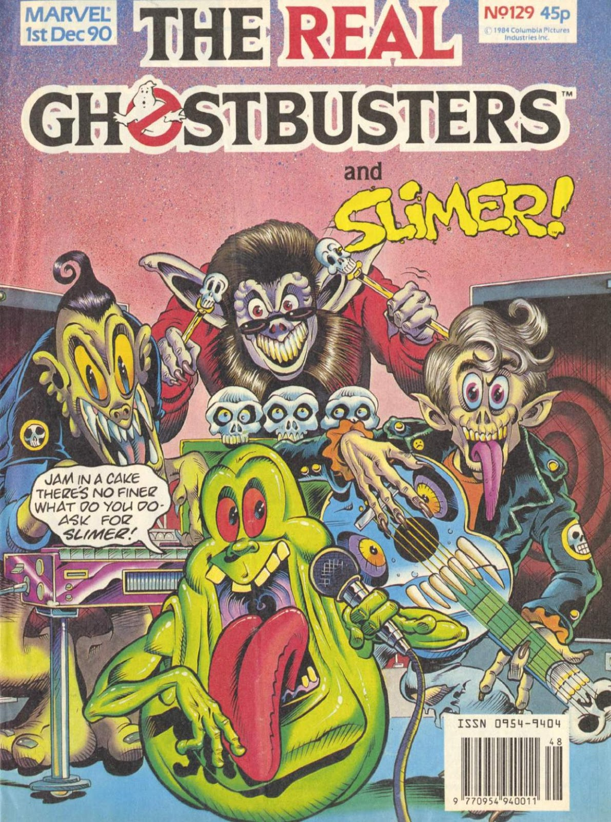 The Real Ghostbusters 129 Page 1