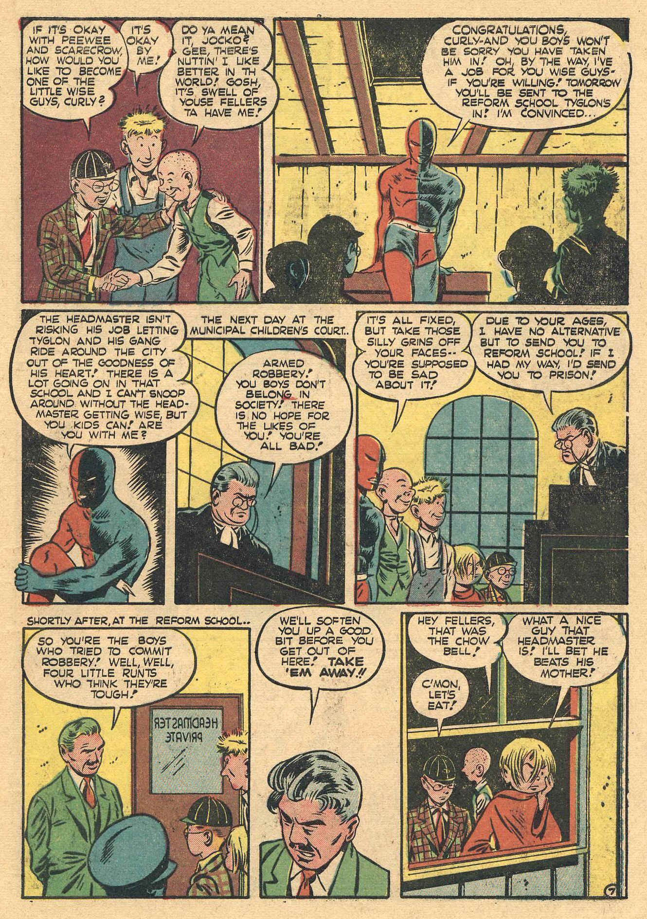 Daredevil (1941) issue 16 - Page 9